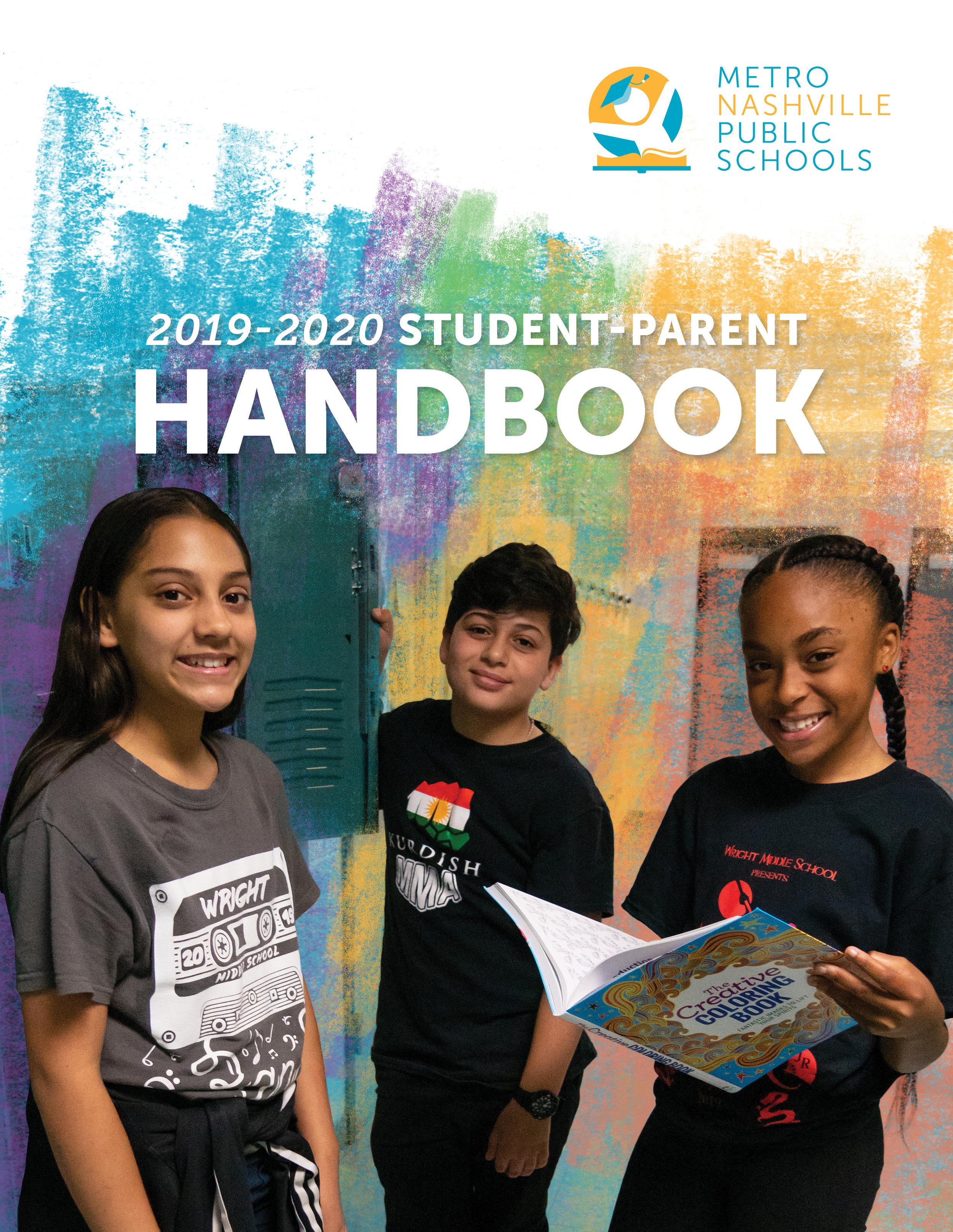 Mnps Calendar 2020.Student Parent Handbook Metro Nashville Public Schools