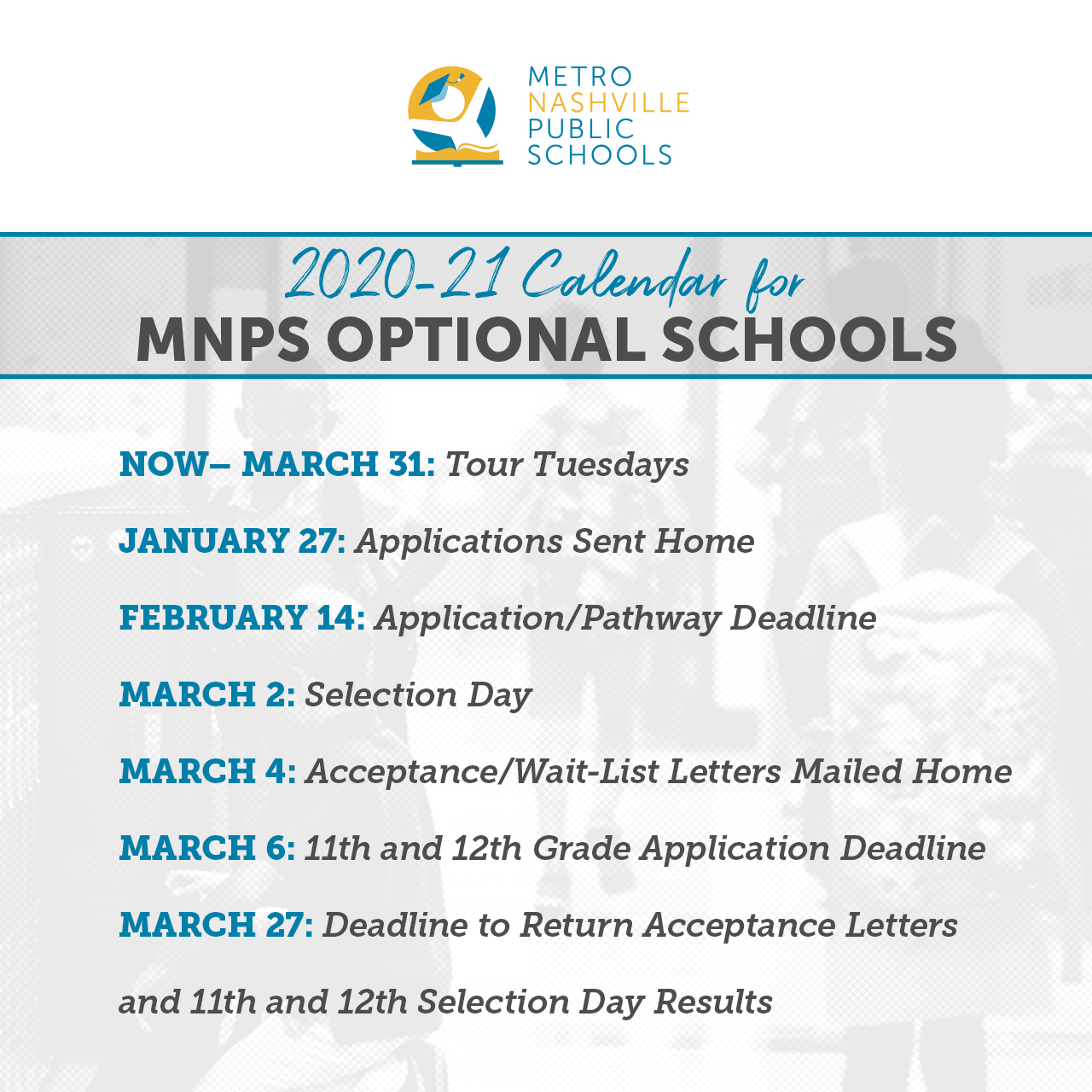 School Choice Applications for 2020 21 Open Monday, Jan. 27