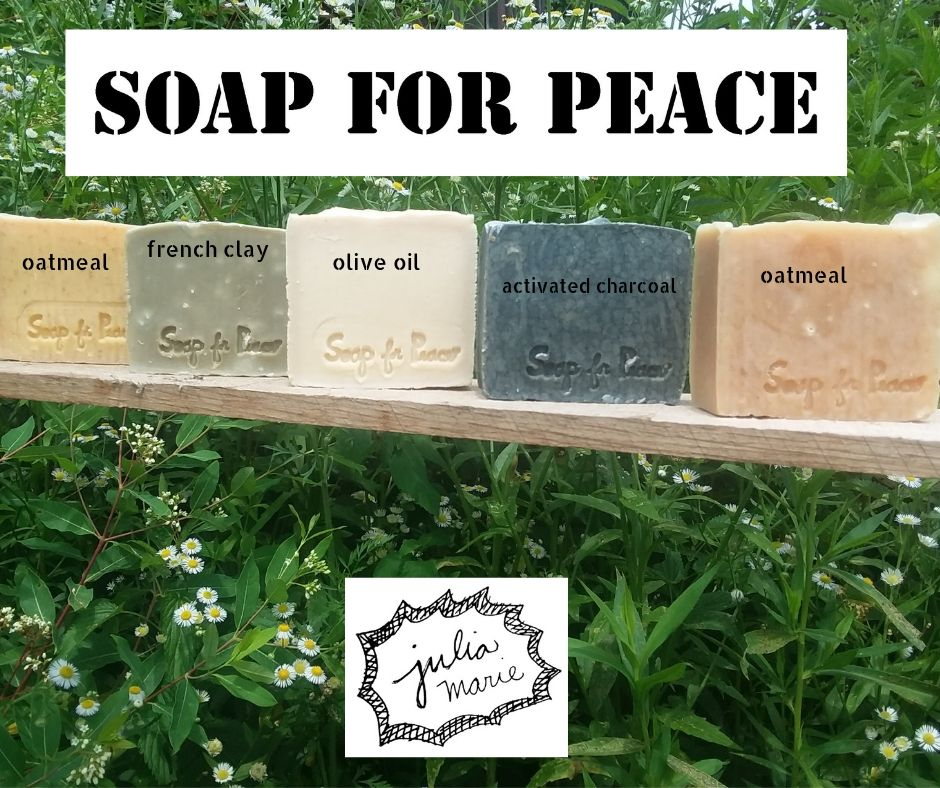 We have six wonderful soaps to choose from!