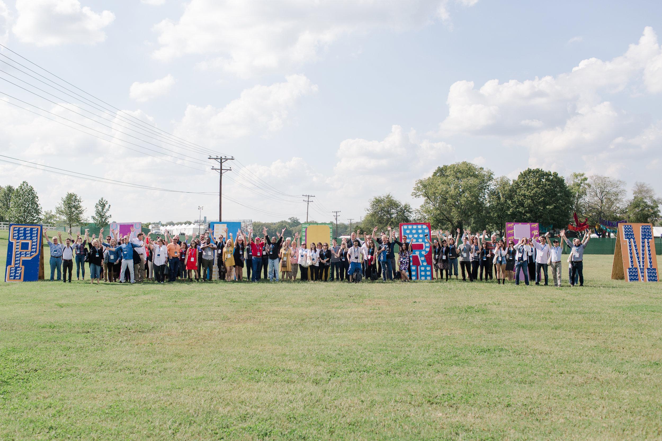 Attendees at Pilgrimage Festival after MTC Franklin 20217
