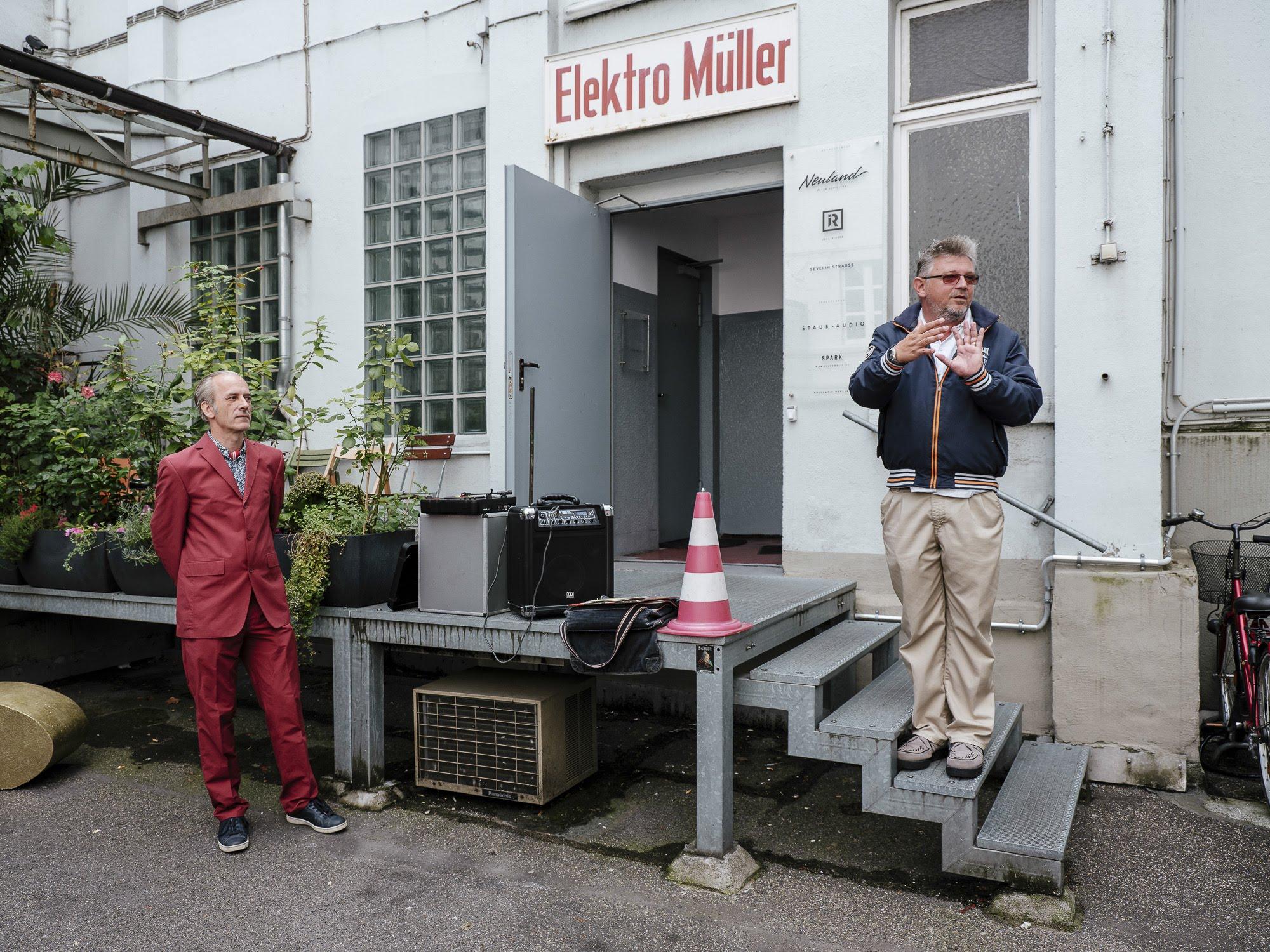 Music Tour Stop at Kraftwerk's Kling Klang Studio - MTC Cologne 2018
