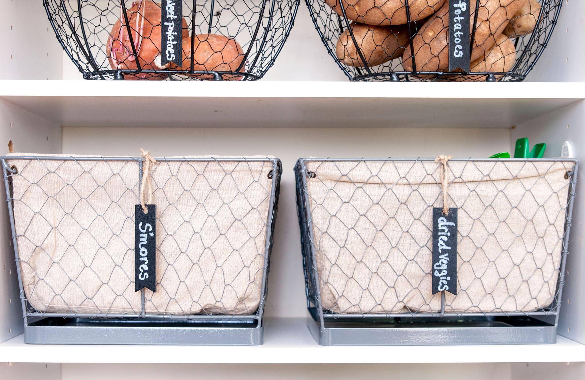 Try labeling a basket or bin for easy identification!