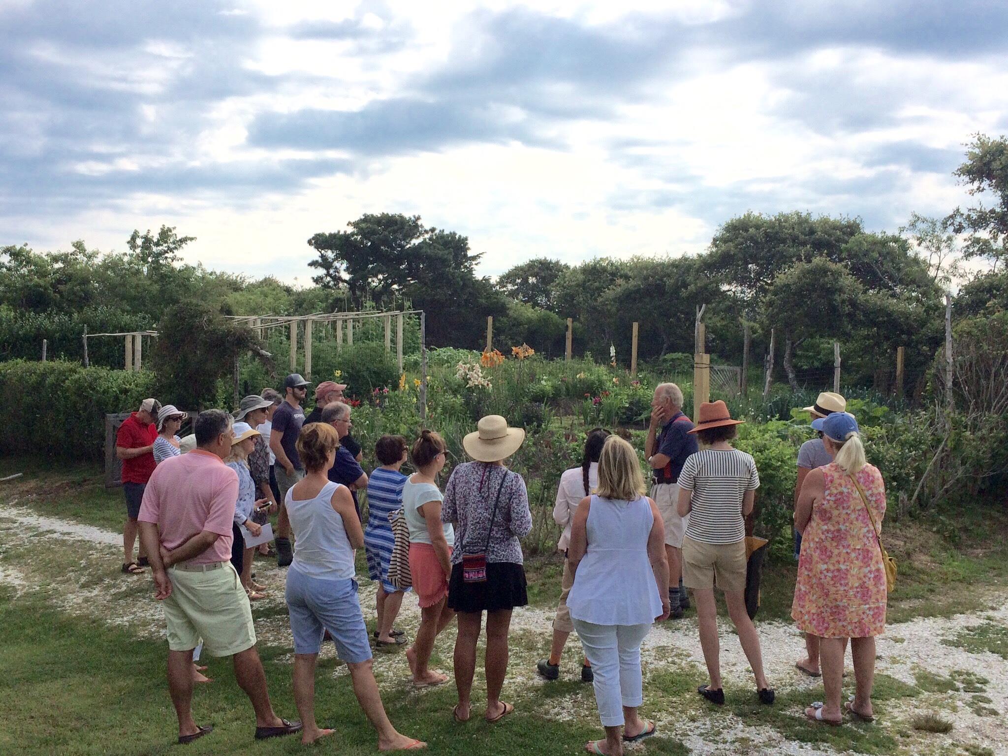 The Victory Garden Workshop with Russell Morash - Nantucket Garden Festival 2016