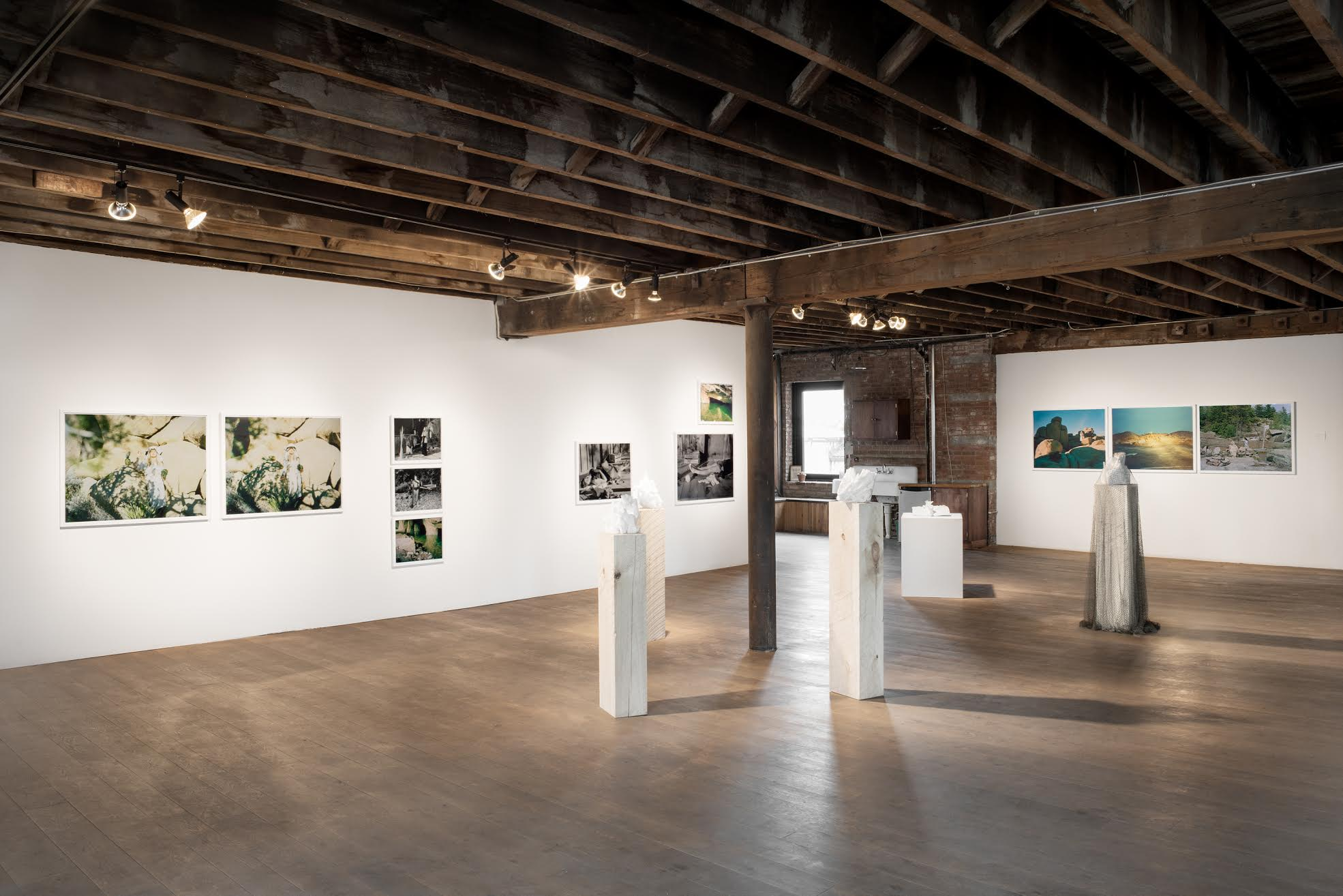 """Installation view of """"Salt Priestess,"""" image courtesy of Pioneer Works 2017"""