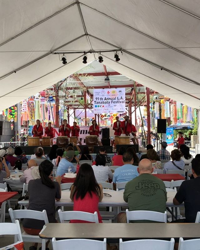 Wonderful to celebrate Japanese American culture today in Little Tokyo. Japanese style acupuncture has greatly benefited the field of integrative healthcare.