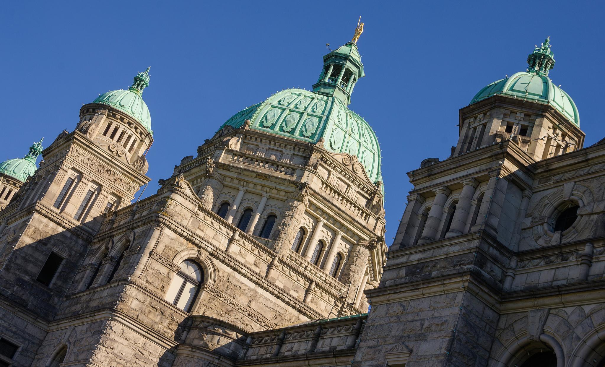 """  B.C. Legislature  "" by   Kurt Bauschardt  /  CC BY-SA 2.0"