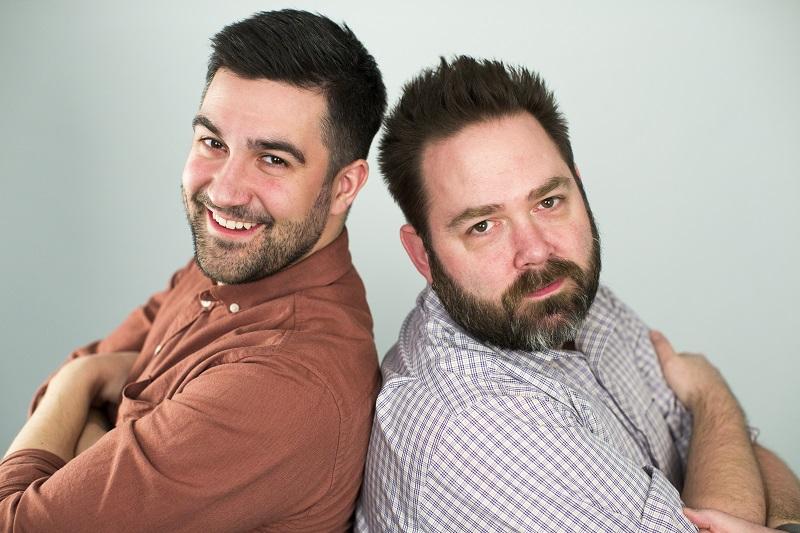 Adam Rozenhart and Tyler Butler