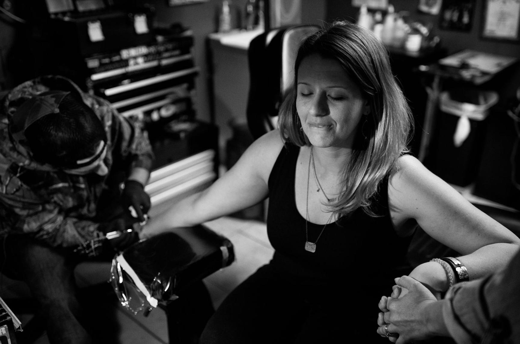 photo by (fellow TFNer and tattoo adventure-documentarian)  Merritt James