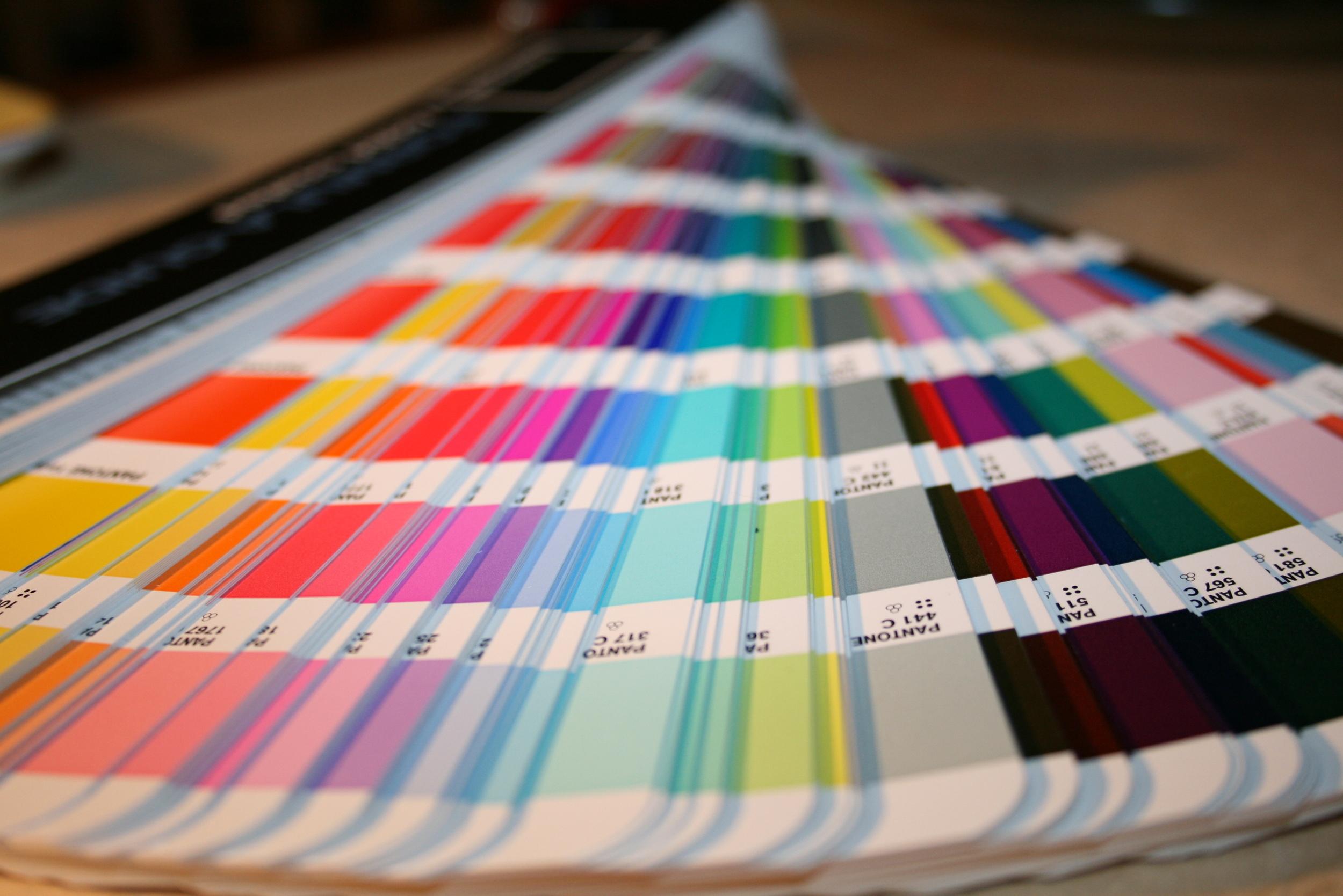 PANTONE Color Wheel