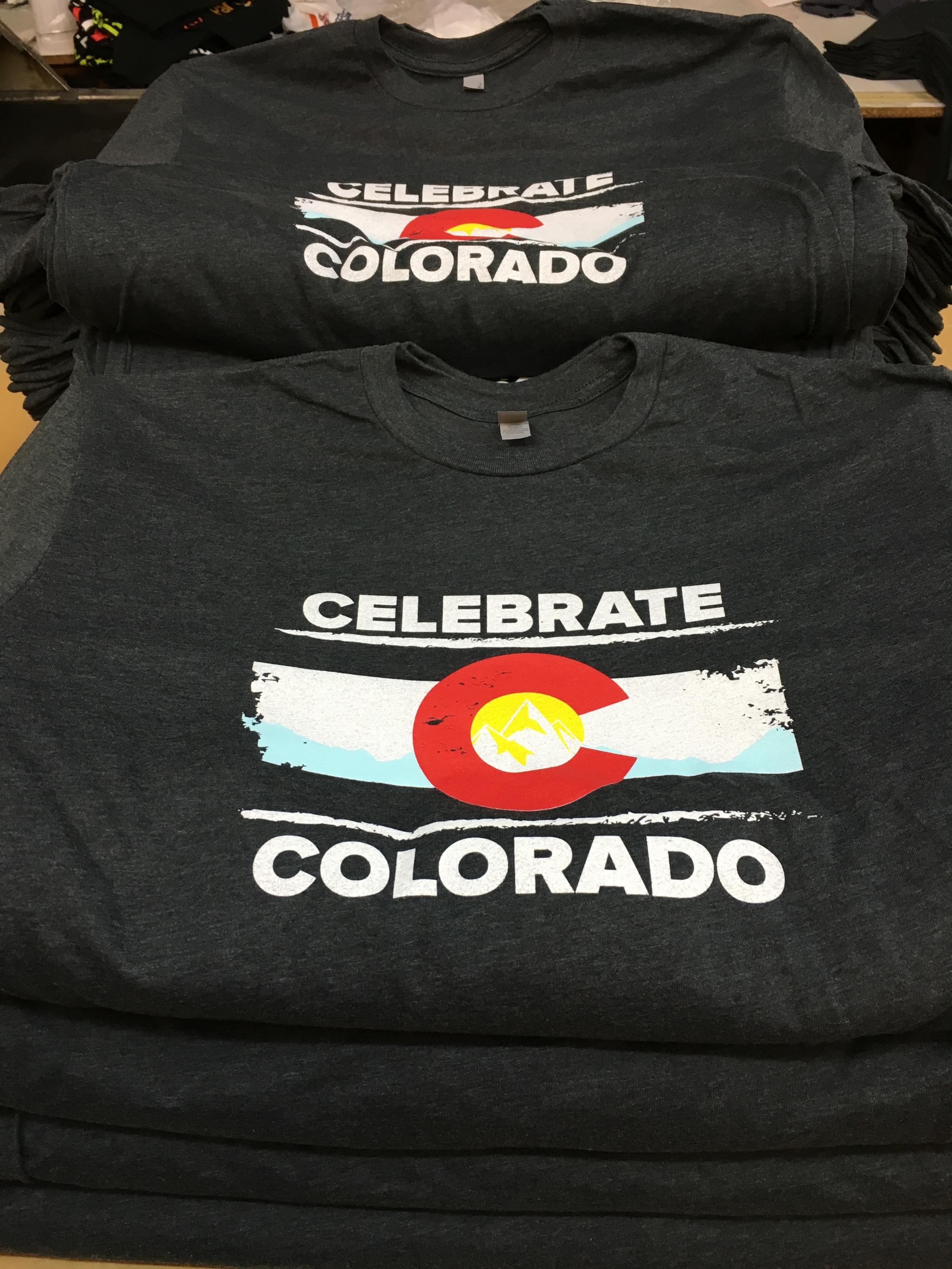 Celebrate Colorado Shirts