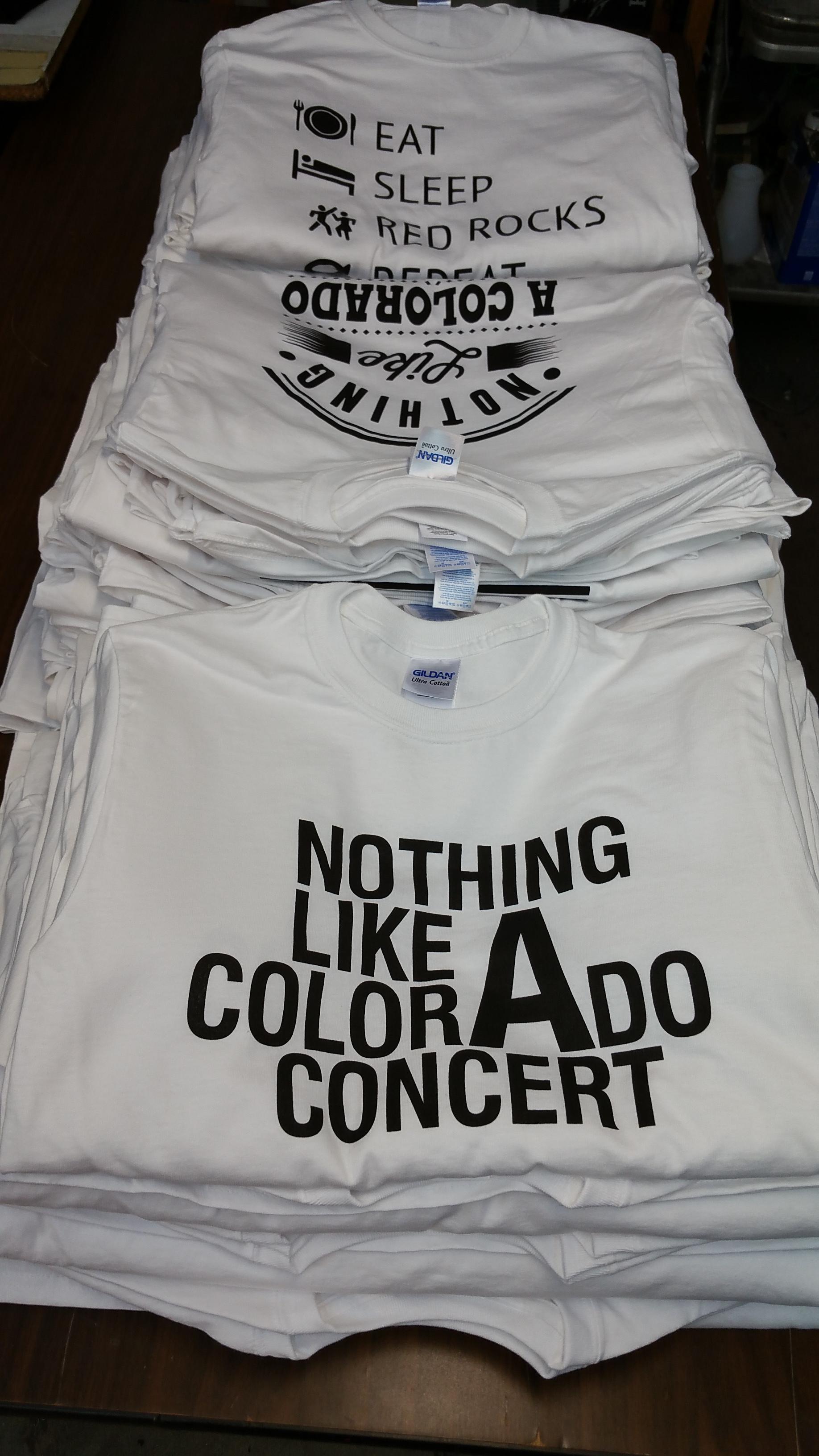 Colorado Concert Tees