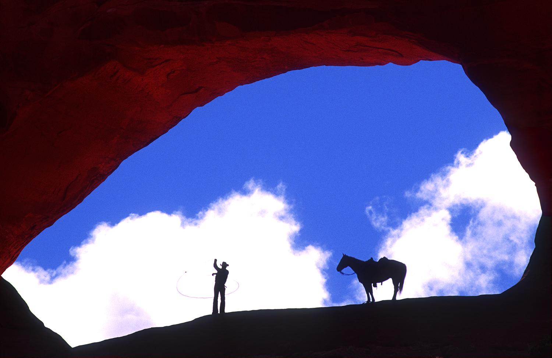 Cowboy at Wilson's Arch 3