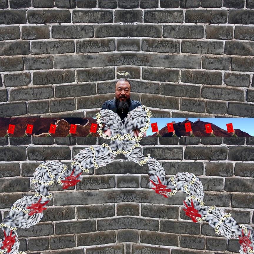 Ai Wei Wei Breaks Through and Spills The Beans