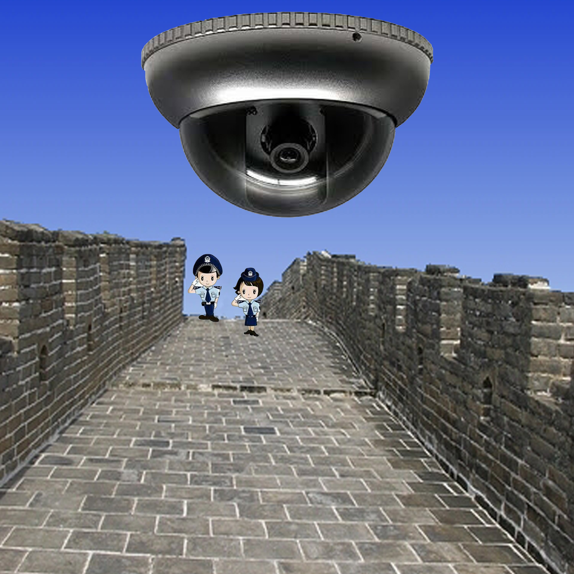 Great Firewall Drone