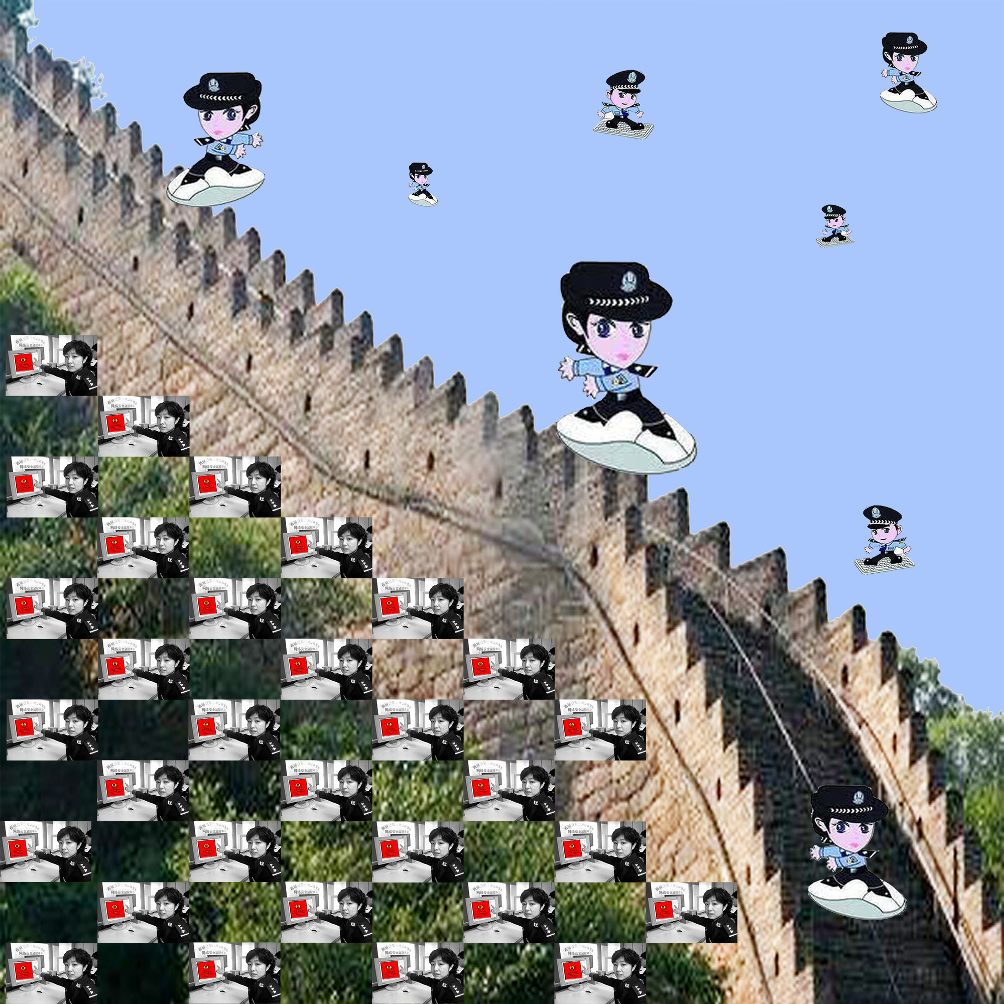 Harmonizing at The Great Wall