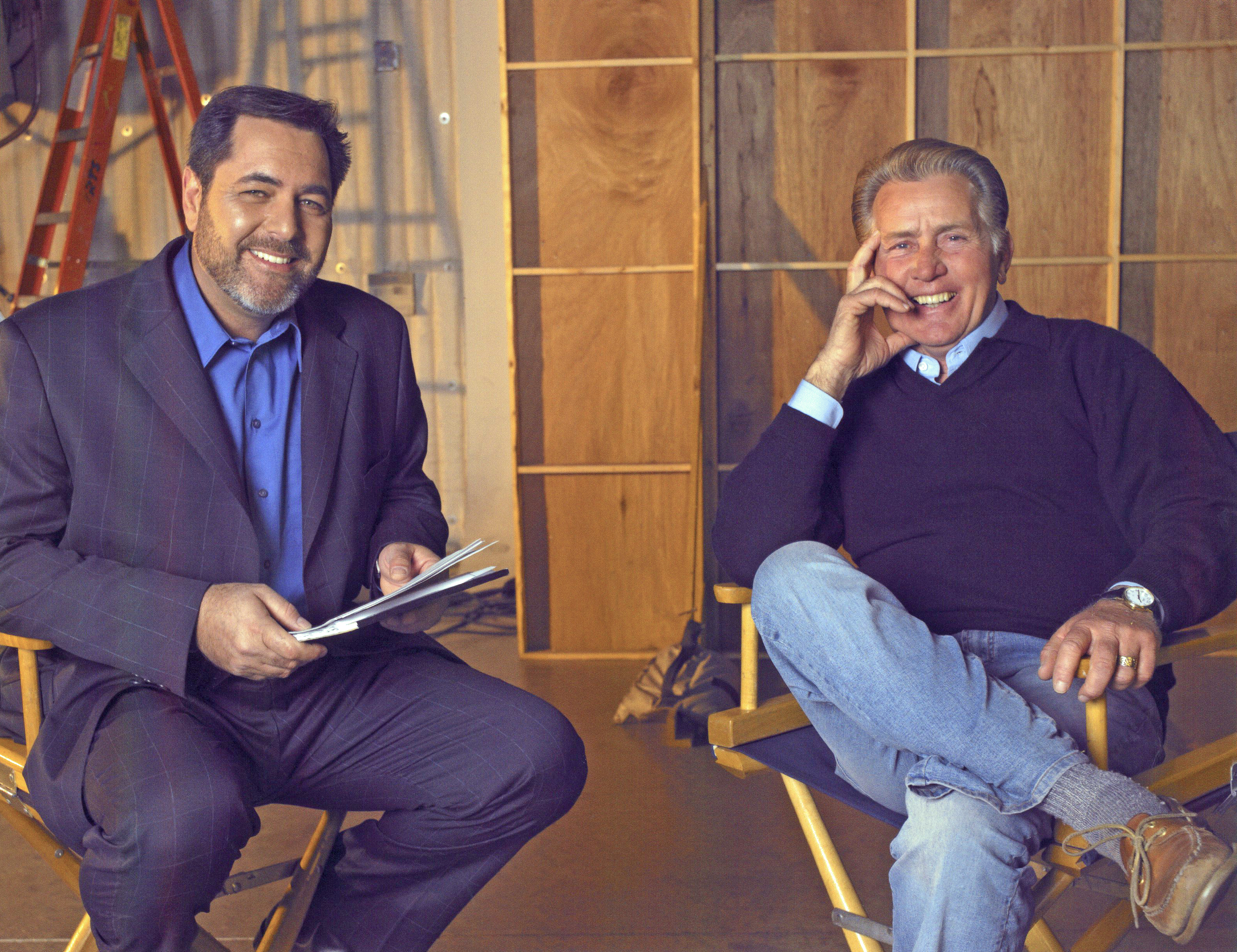 Jerry Interviewing client Martin Sheen