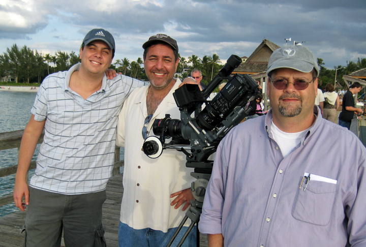 With long time friend and producer Michael Behar and cinematographer Daniel Barrocas
