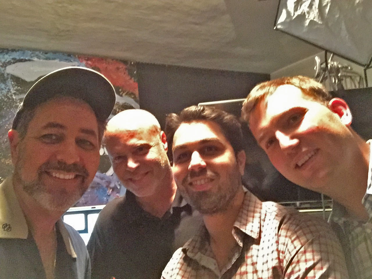 With shooter Steve Weiss and Executive Producers Yoav Attias & Nick Burnett