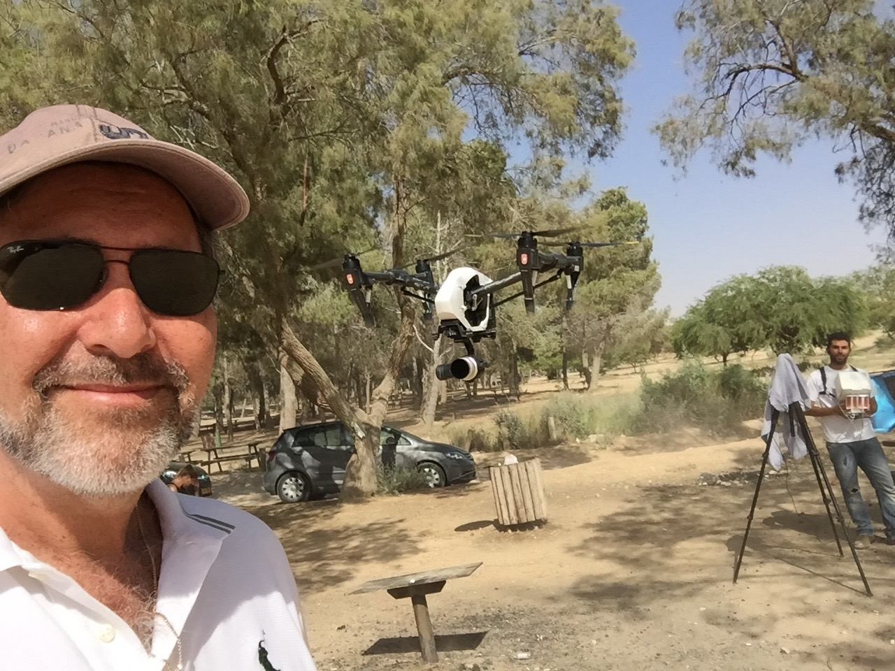 Drone cinematography in Yerucahm - the Southern Negev