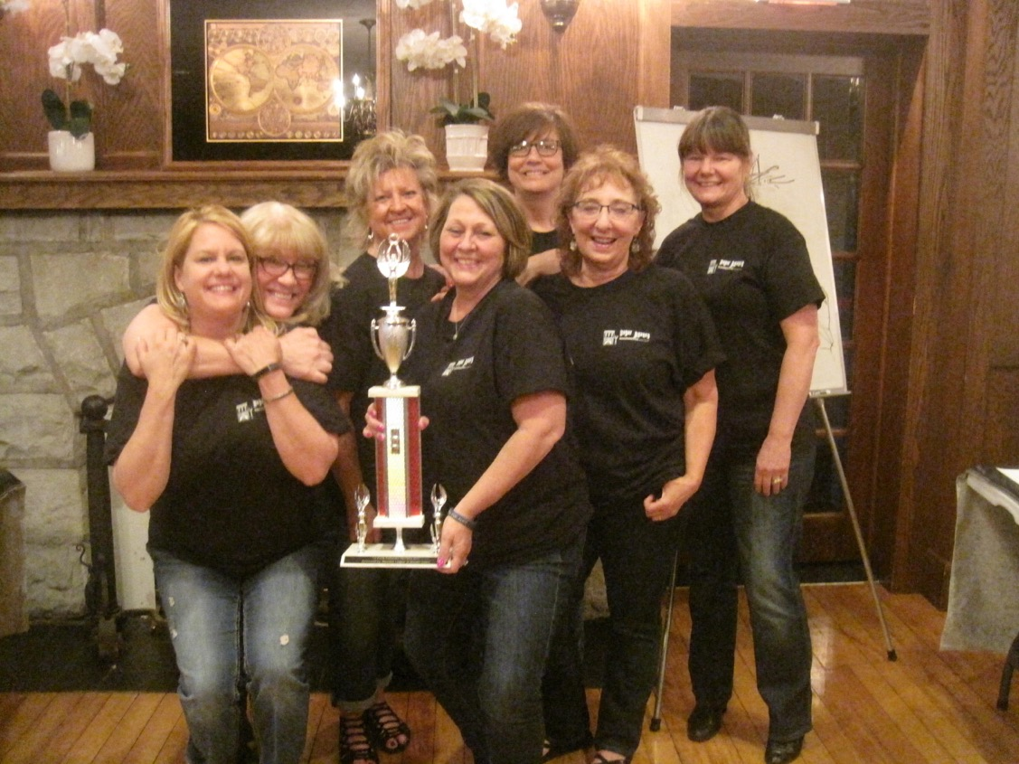 The Boyer Agency taking home the first place trophy!