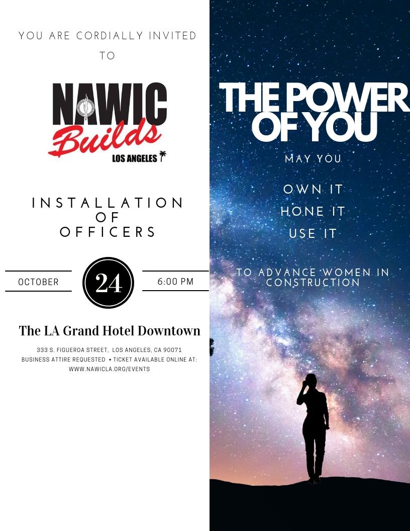 NAWIC LA 5th Annual Installation