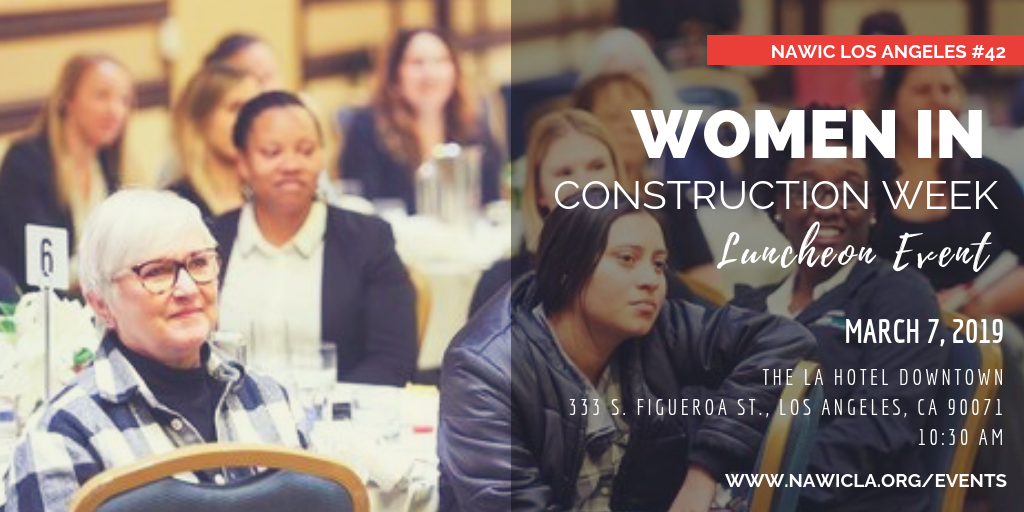 NAWIC LA Events — National association of women in construction, los