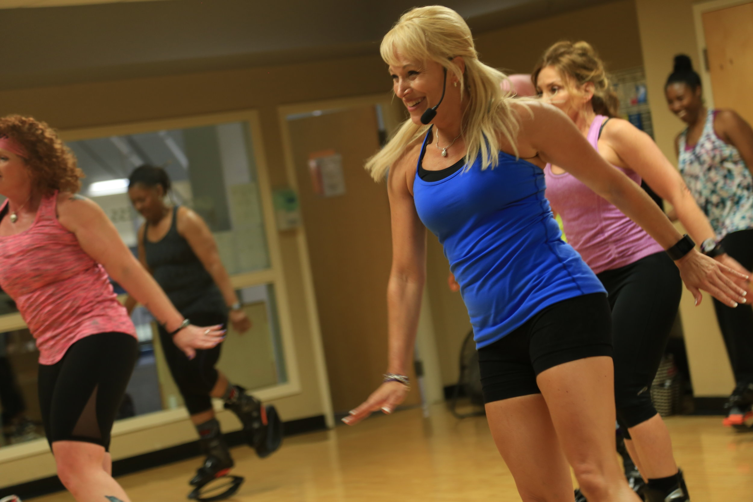 Michelle Davis is the Owner and Head Instructor at JumpFit Indy