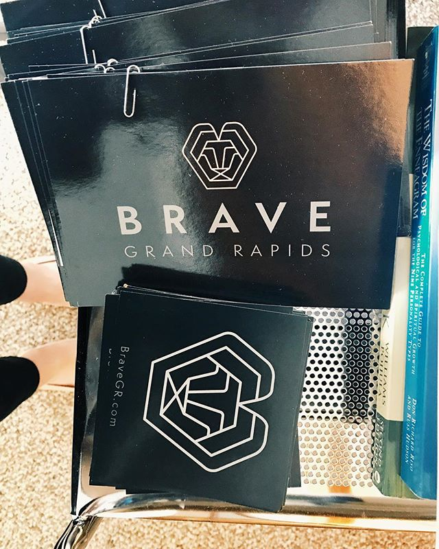 Prepping for Campus Life Night at #grandvalleystateuniversity on September 5th from 6-8pm. We hope to see you there! . . . . . .  #counseling #college #brave #therapy #mentalhealth #wellness #bebrave