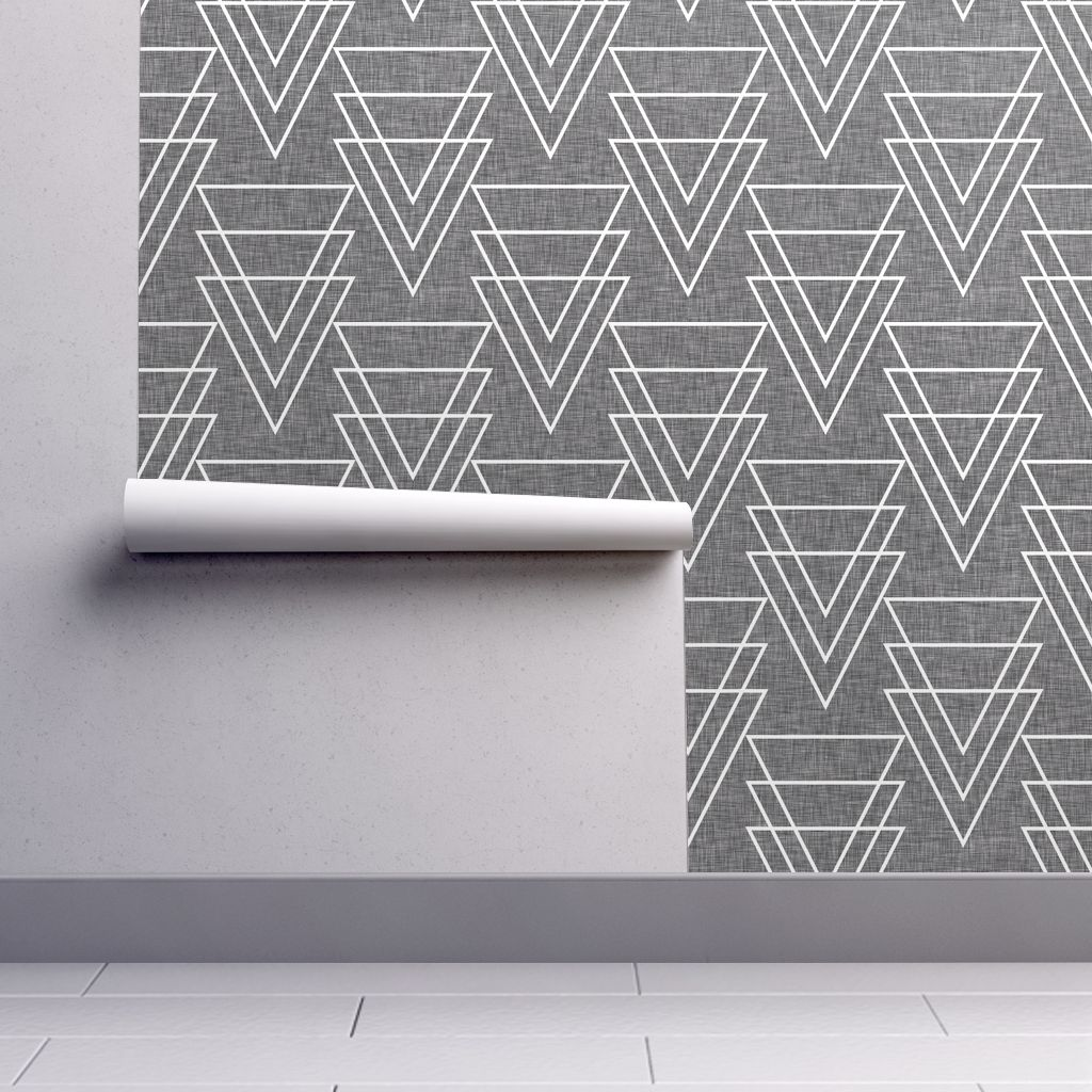 Geometric Arrow Linen by Holli_Zollinger