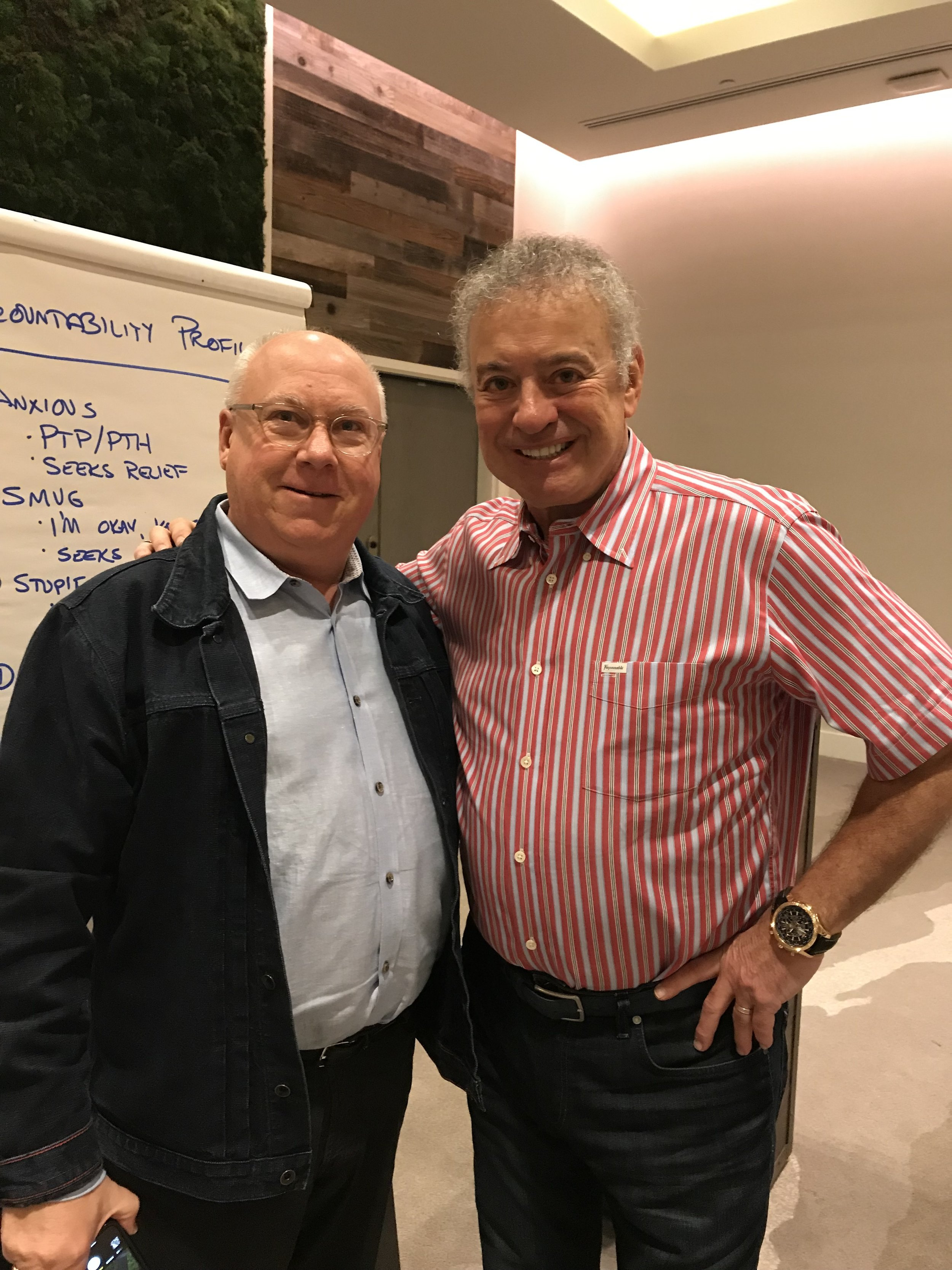 Alan Weiss and  Art Koch