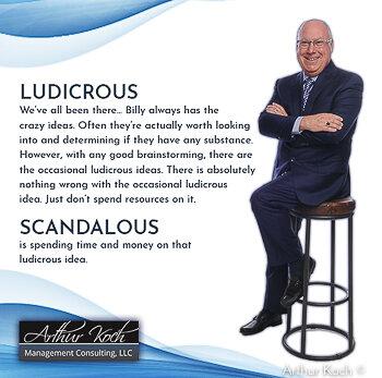Ludicrous and Scandalous