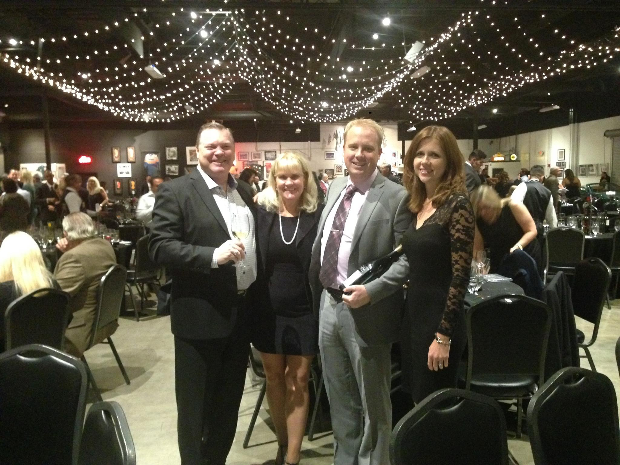Lighthouse CEO, Dustin Steeve, and former CEO, Jay Mills, participate in Seneca's flagship annual charity dinner, Evening Under the Stars.