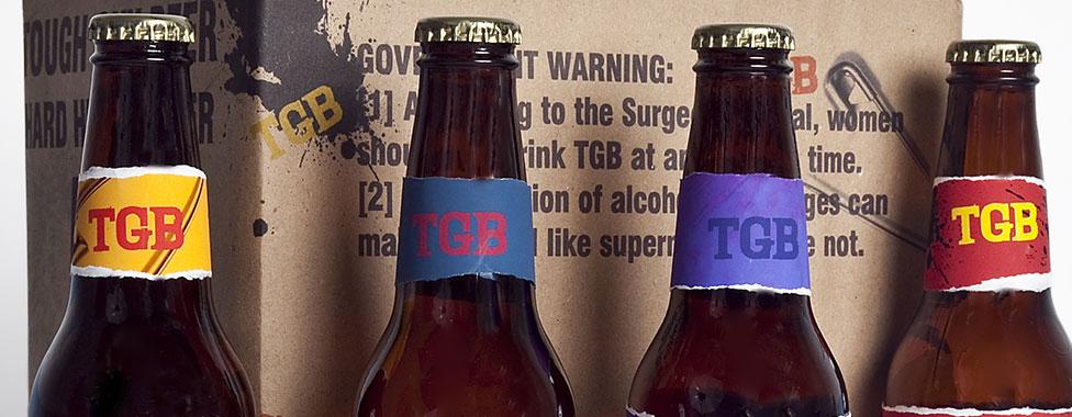 Tough Guy Beer Package Design