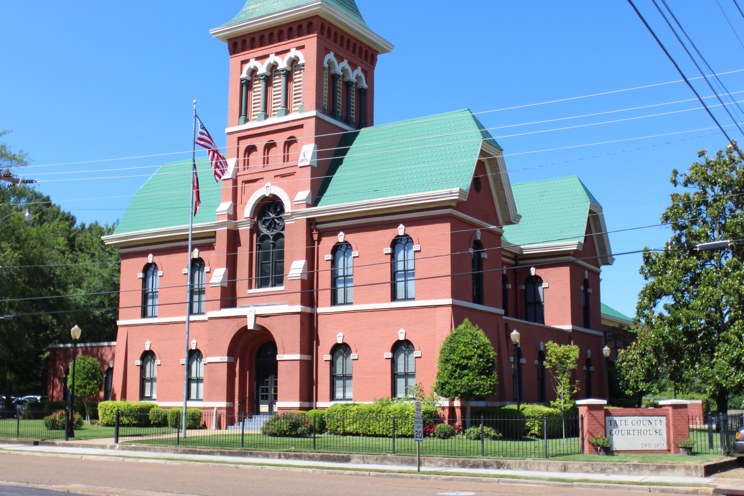 Tate County Courthouse
