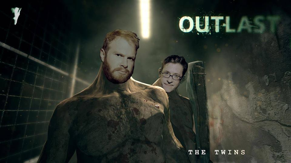 Henry Zebrowski plays the terrifying Outlast.