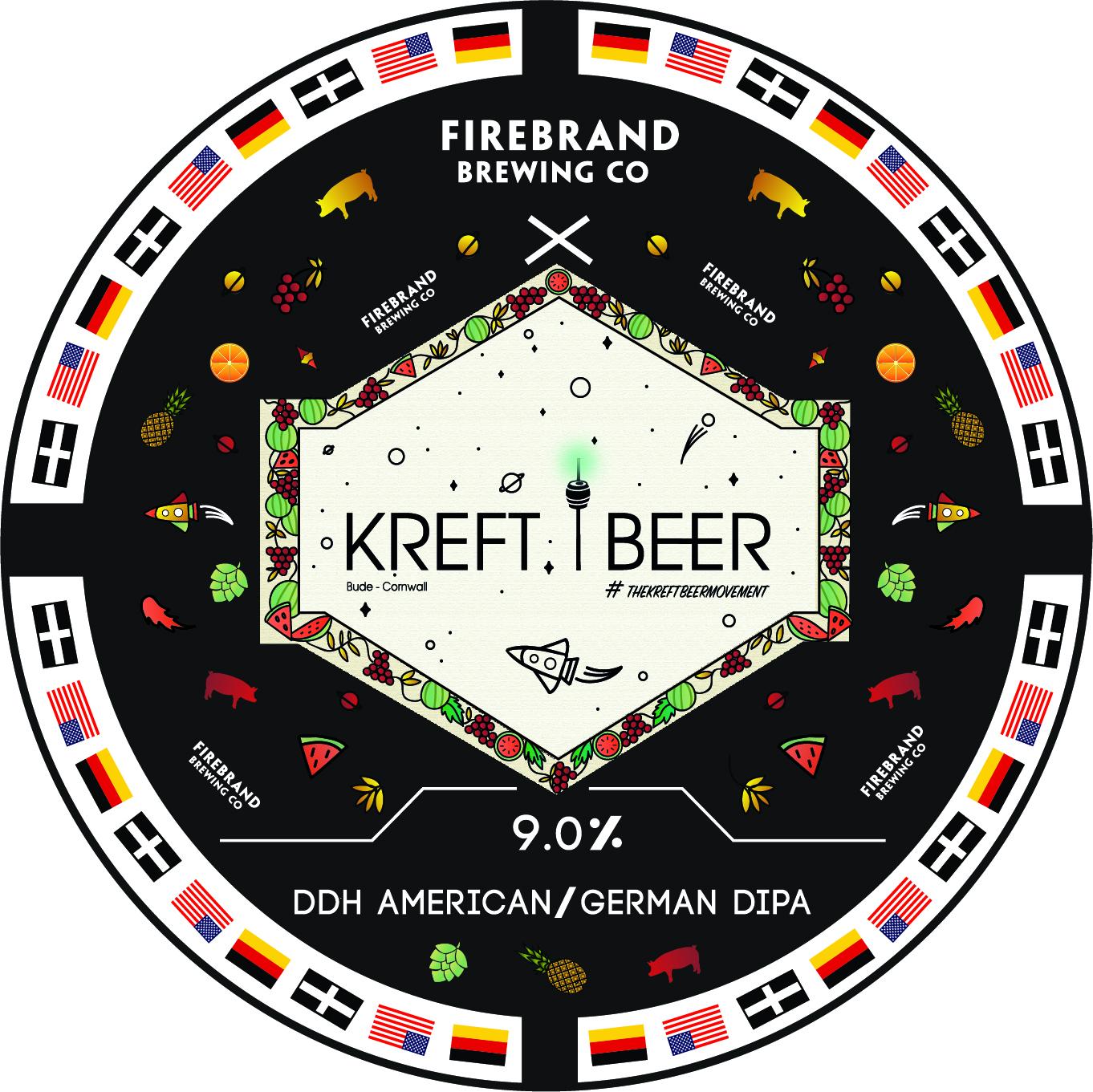 FIREBRAND BREWING CO x KREFT BEER