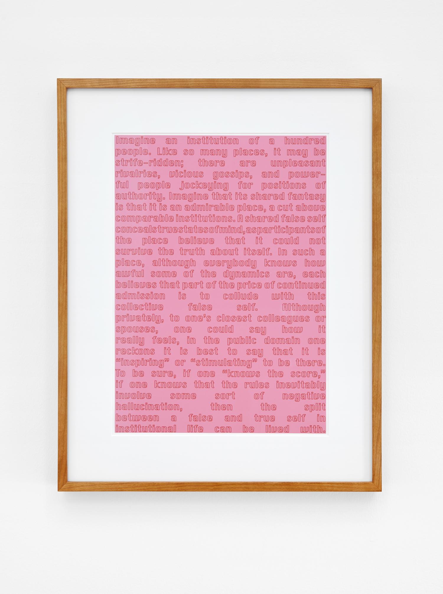 Anna Susanna Woof  Untitled   2016 Framed C-print 42 x 29.7 cm