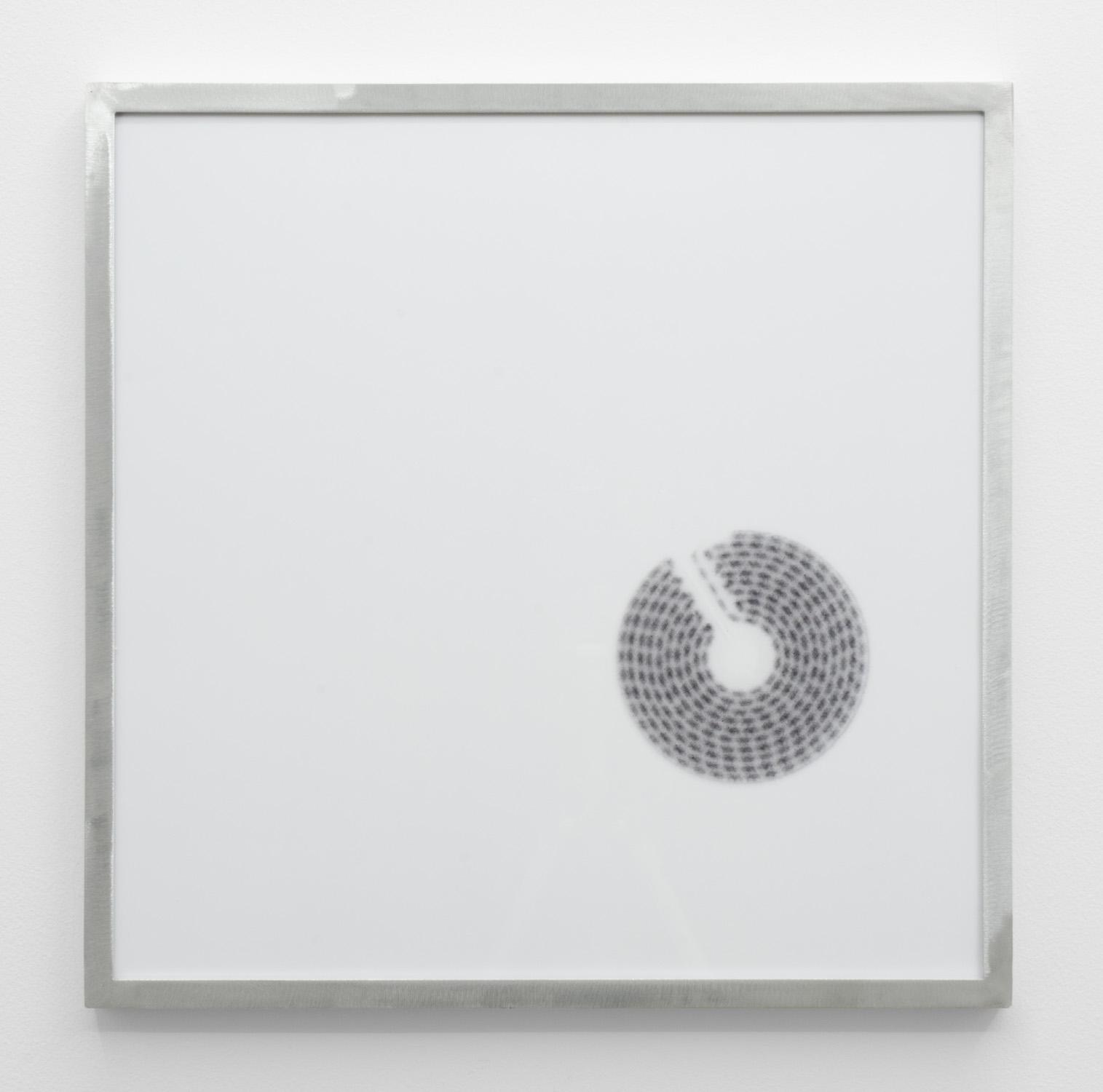 IR-1 , 2014, giclee print on hahnemuhle photorag, custom aluminium frame 40 x 40 cm.