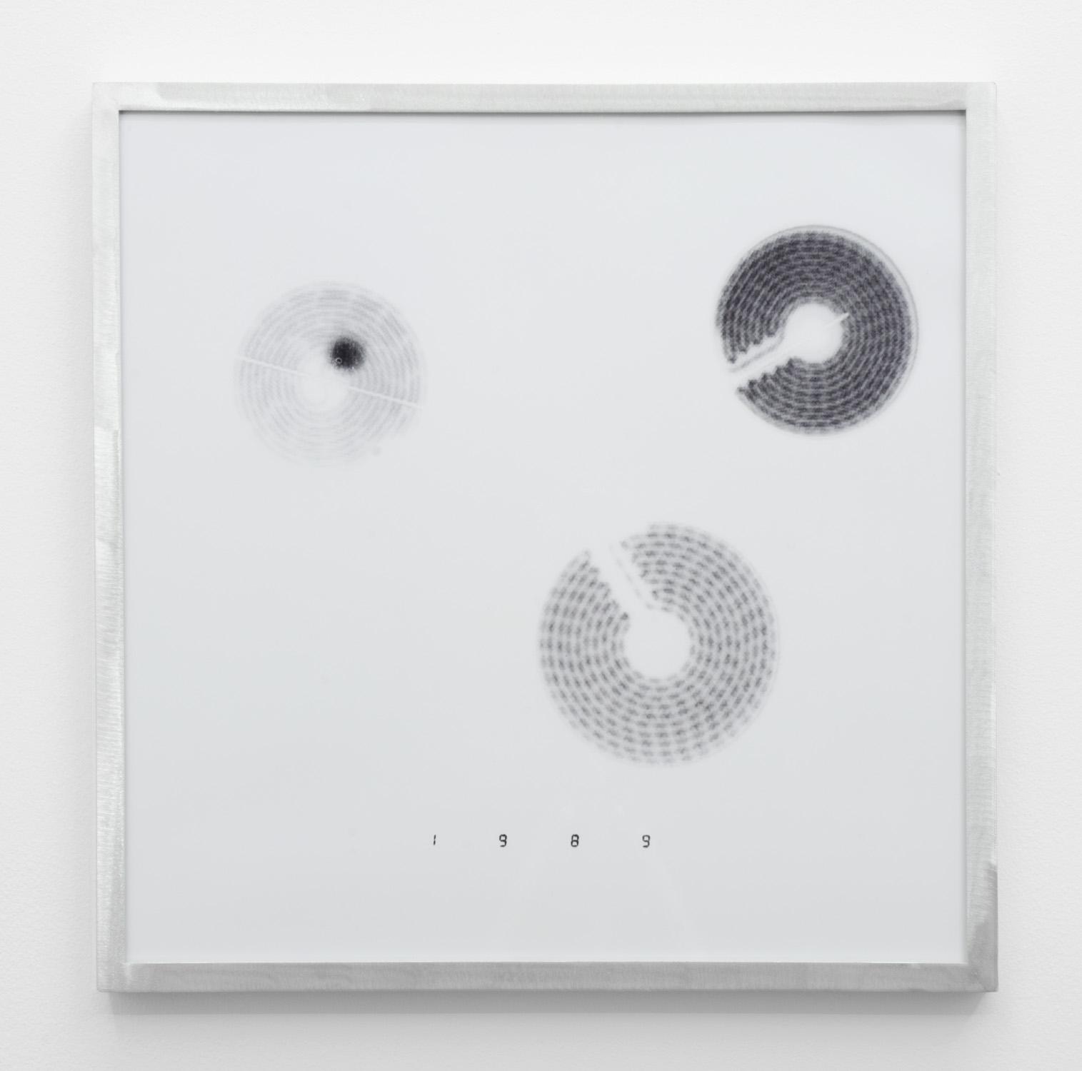IR-4 , 2014, giclee print on hahnemuhle photorag, custom aluminium frame 40 x 40 cm.