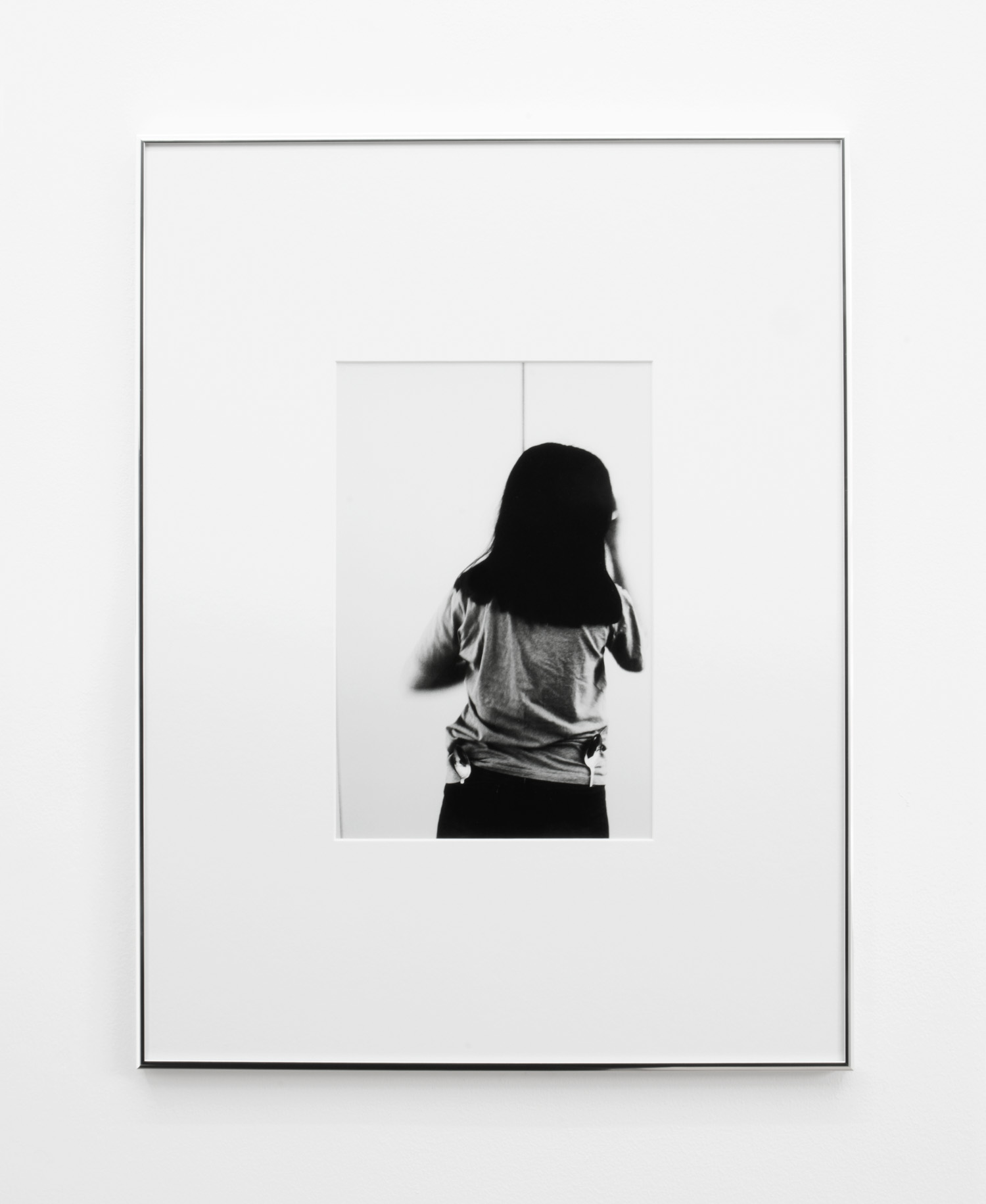 Leda 3 , 2015, 55 x 42cm (framed), Silver Gelatin print.
