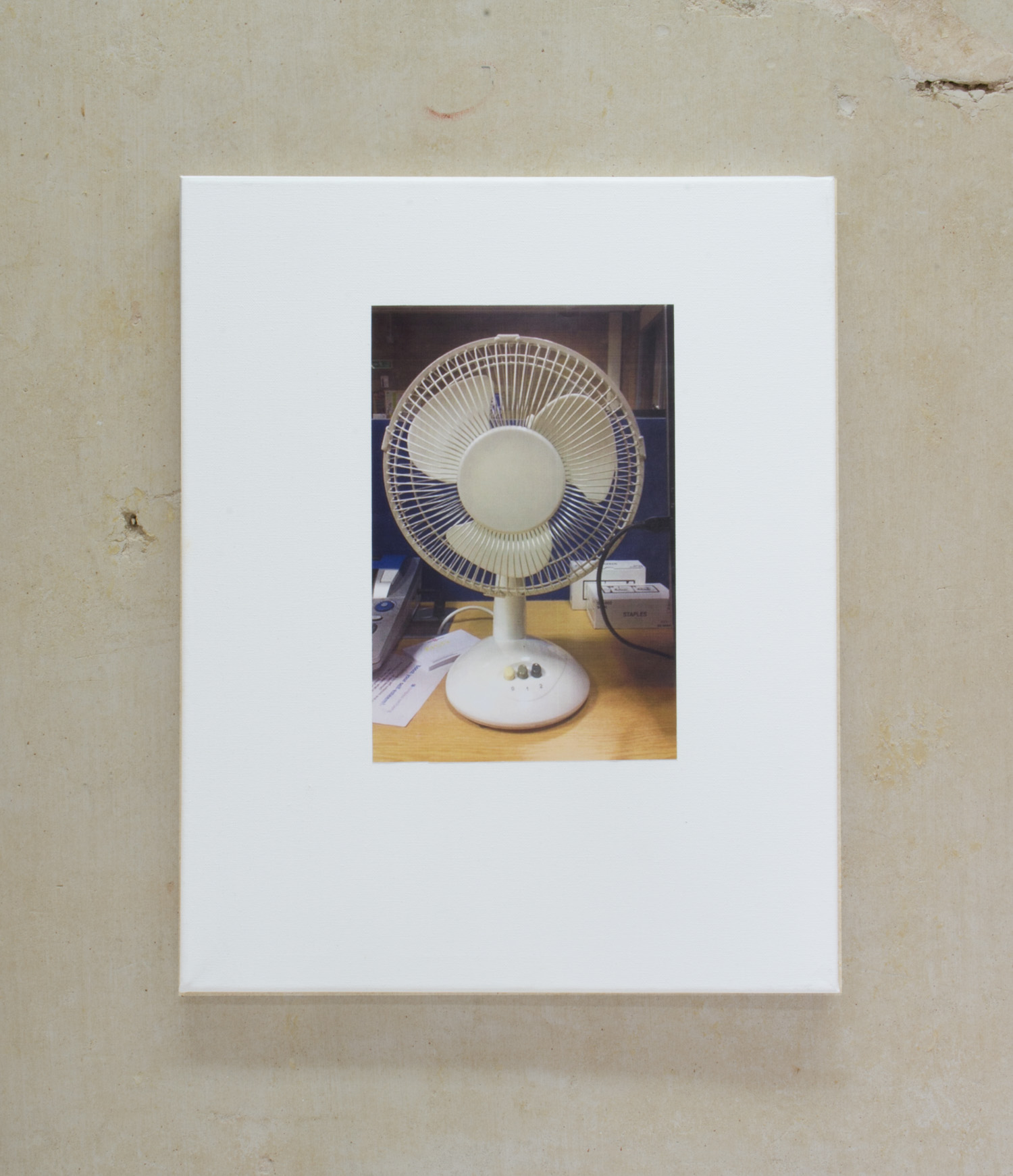 Fan, 2016, Inkjet print mounted on canvas, 51 x 41cm.