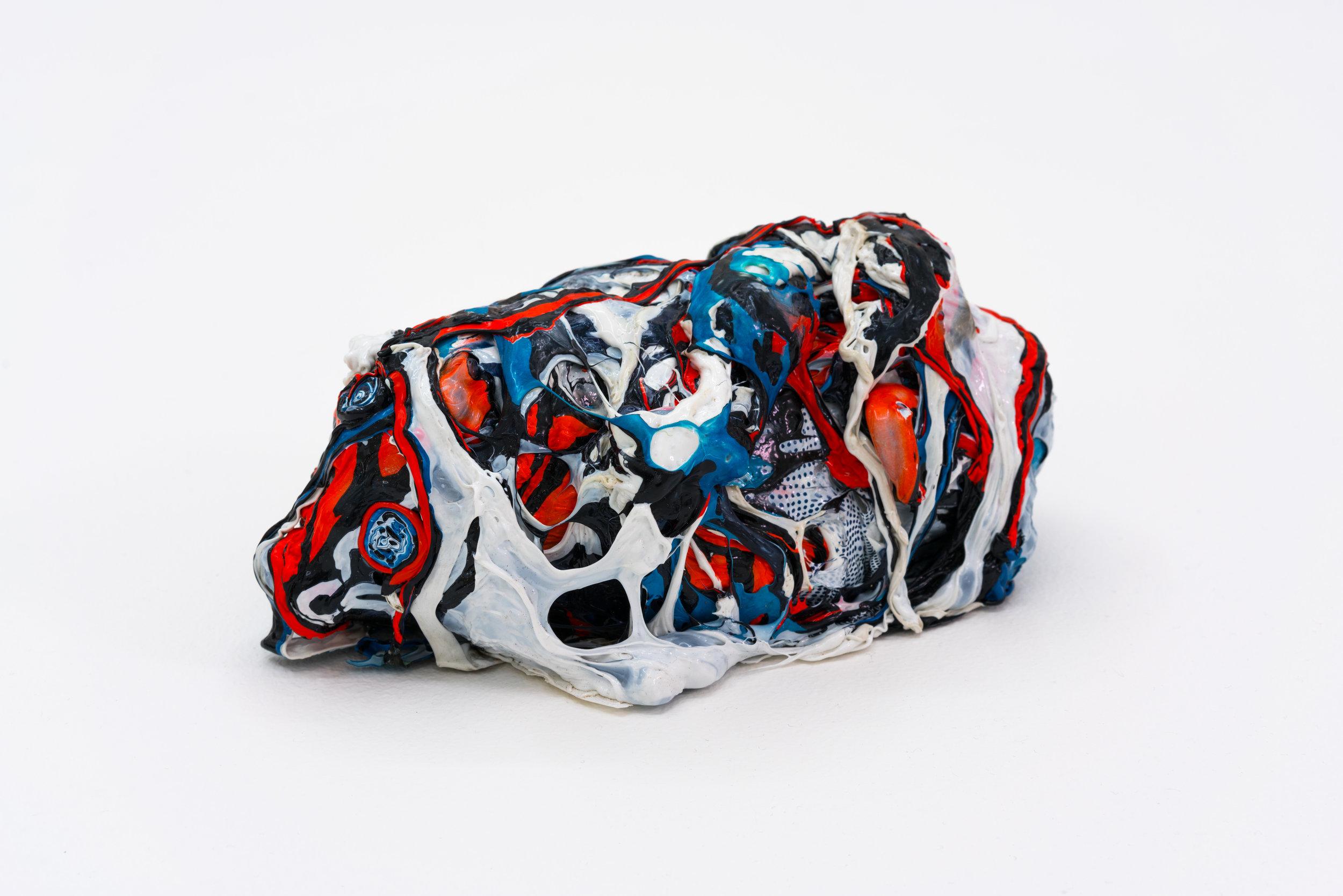 Remko Scha,  Plastic Meltdown , 1962-1992, Plastic, 9 x 19 x 11 cm