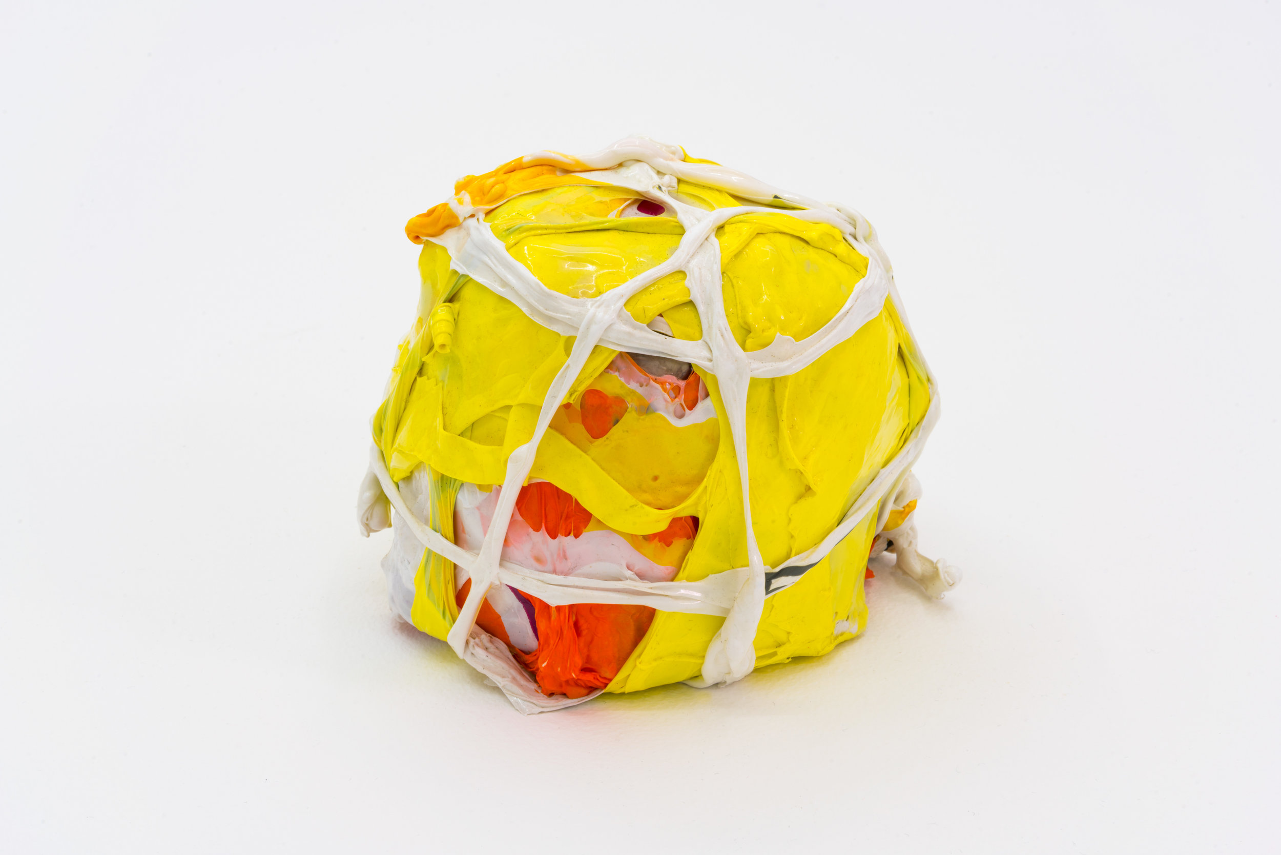 Remko Scha,  Plastic Meltdown , 1962-1992, Plastic, 10 x 12 x 11 cm