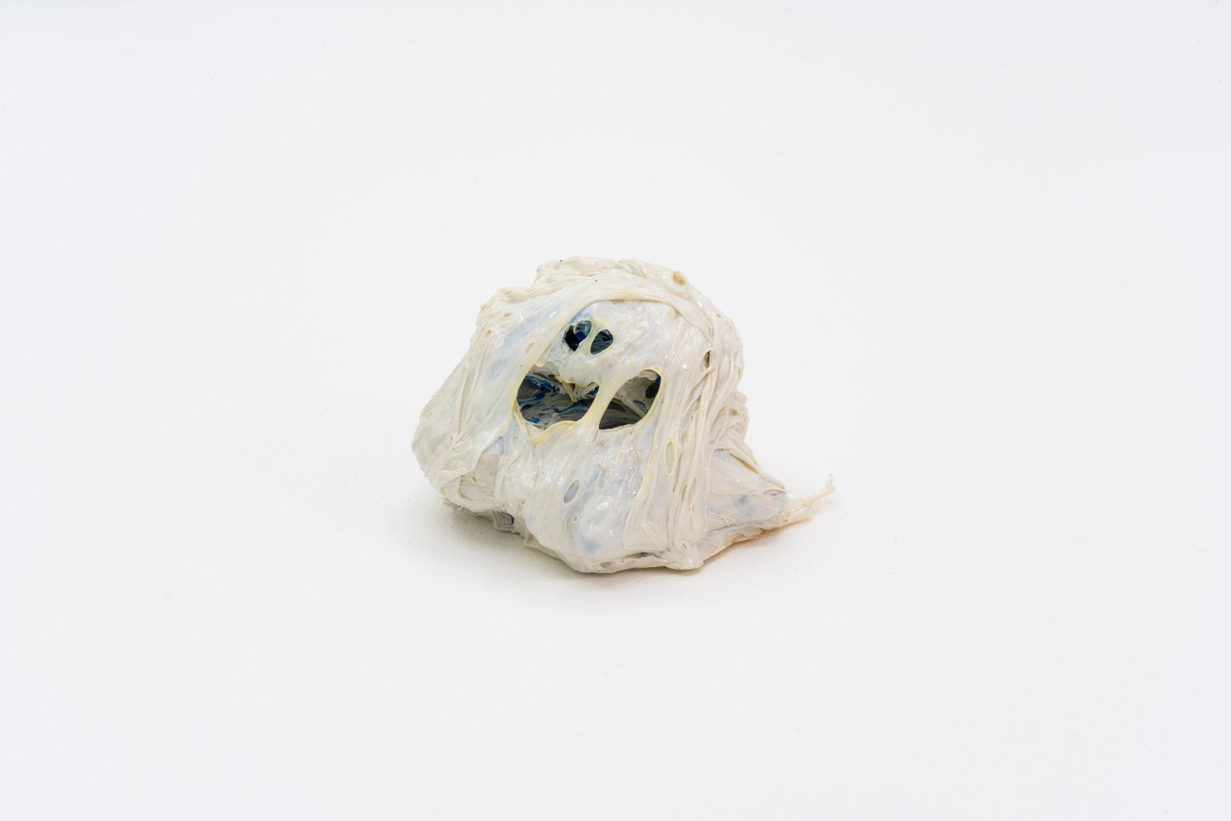 Remko Scha,  Plastic Meltdown , 1962-1992, Plastic, 6 x 10 x 8 cm