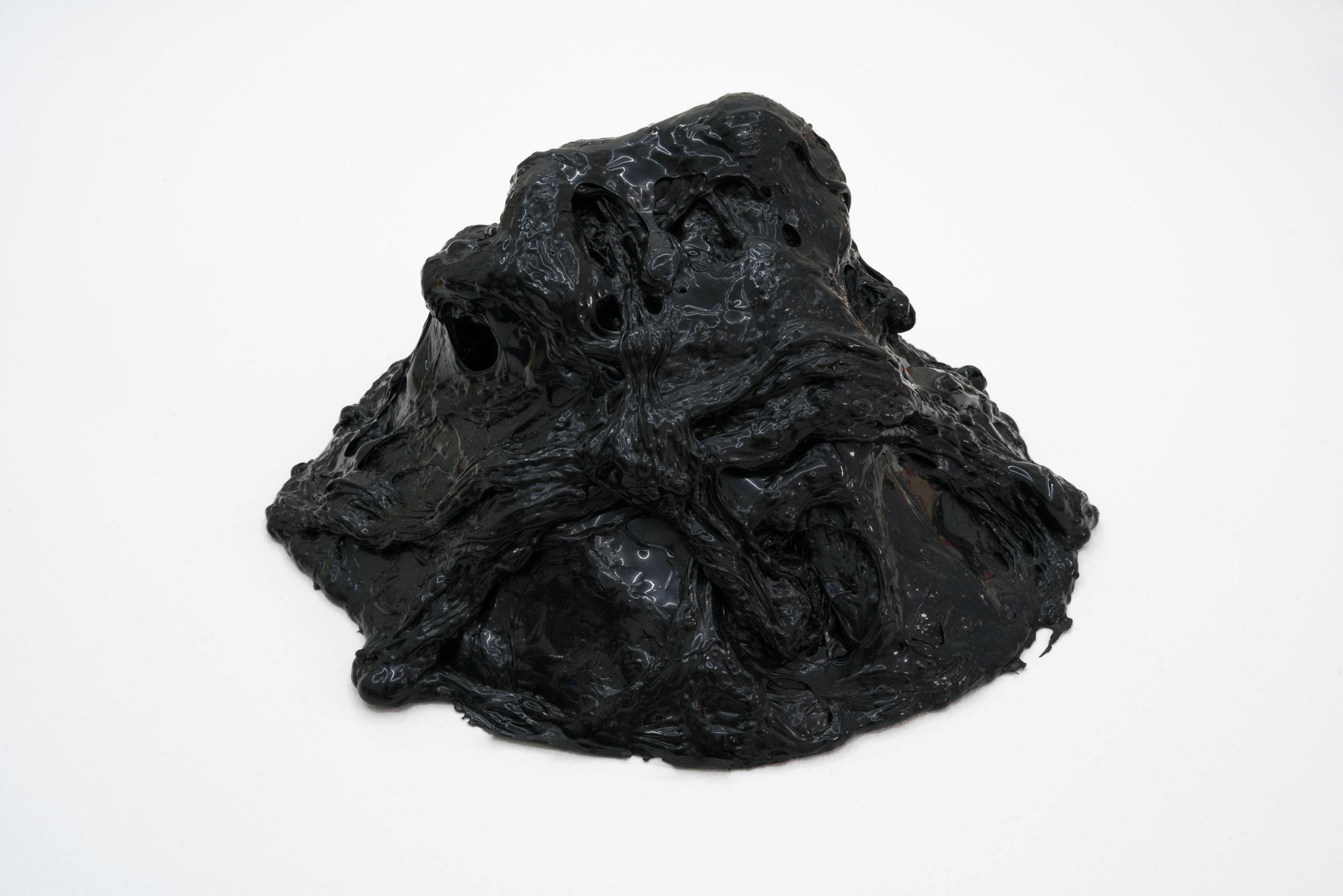 Remko Scha,  Plastic Meltdown , 1962-1992, Plastic, 13 x 24 x 23 cm