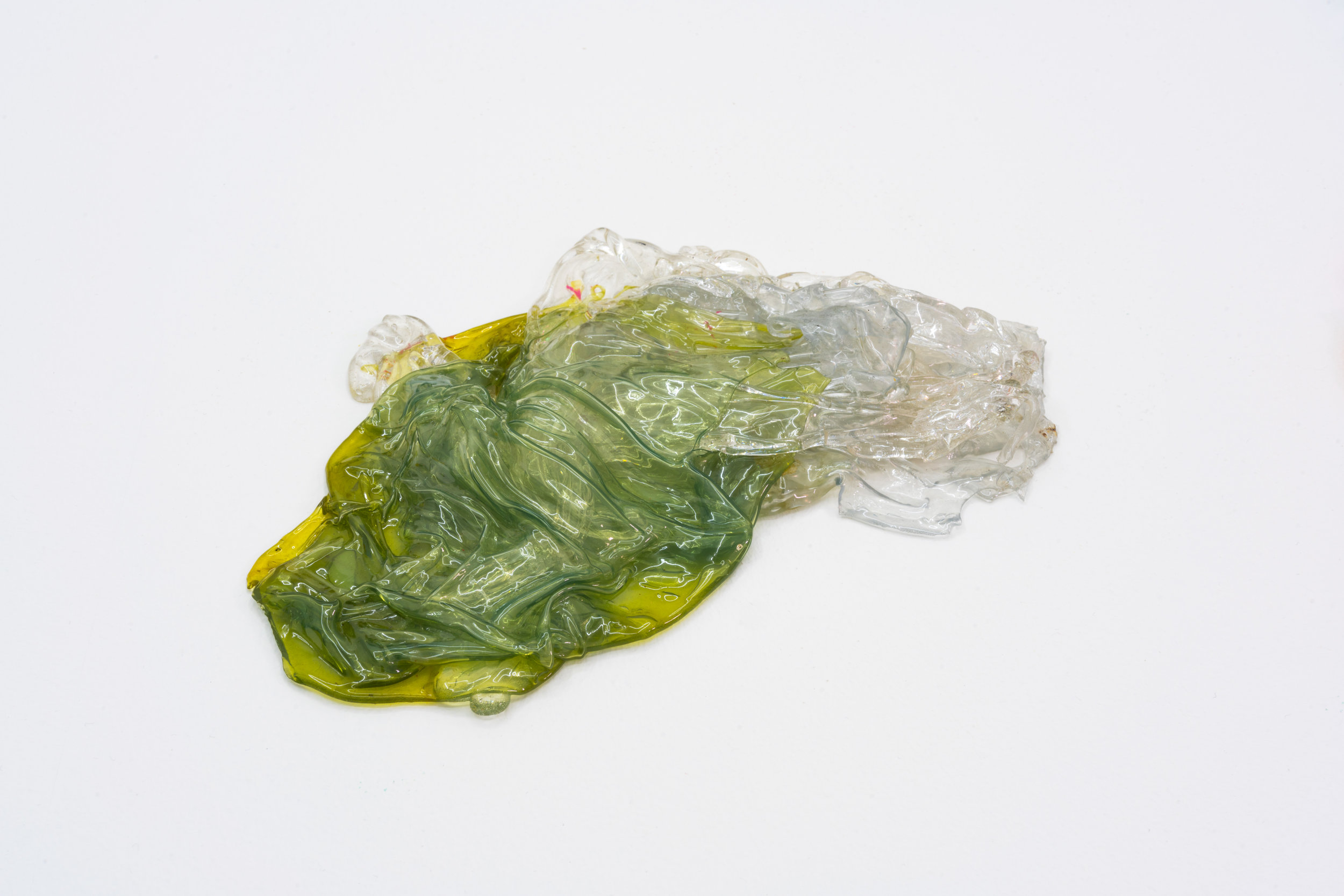 Remko Scha,  Plastic Meltdown , 1962-1992, Plastic, 2 x 21 x 14 cm