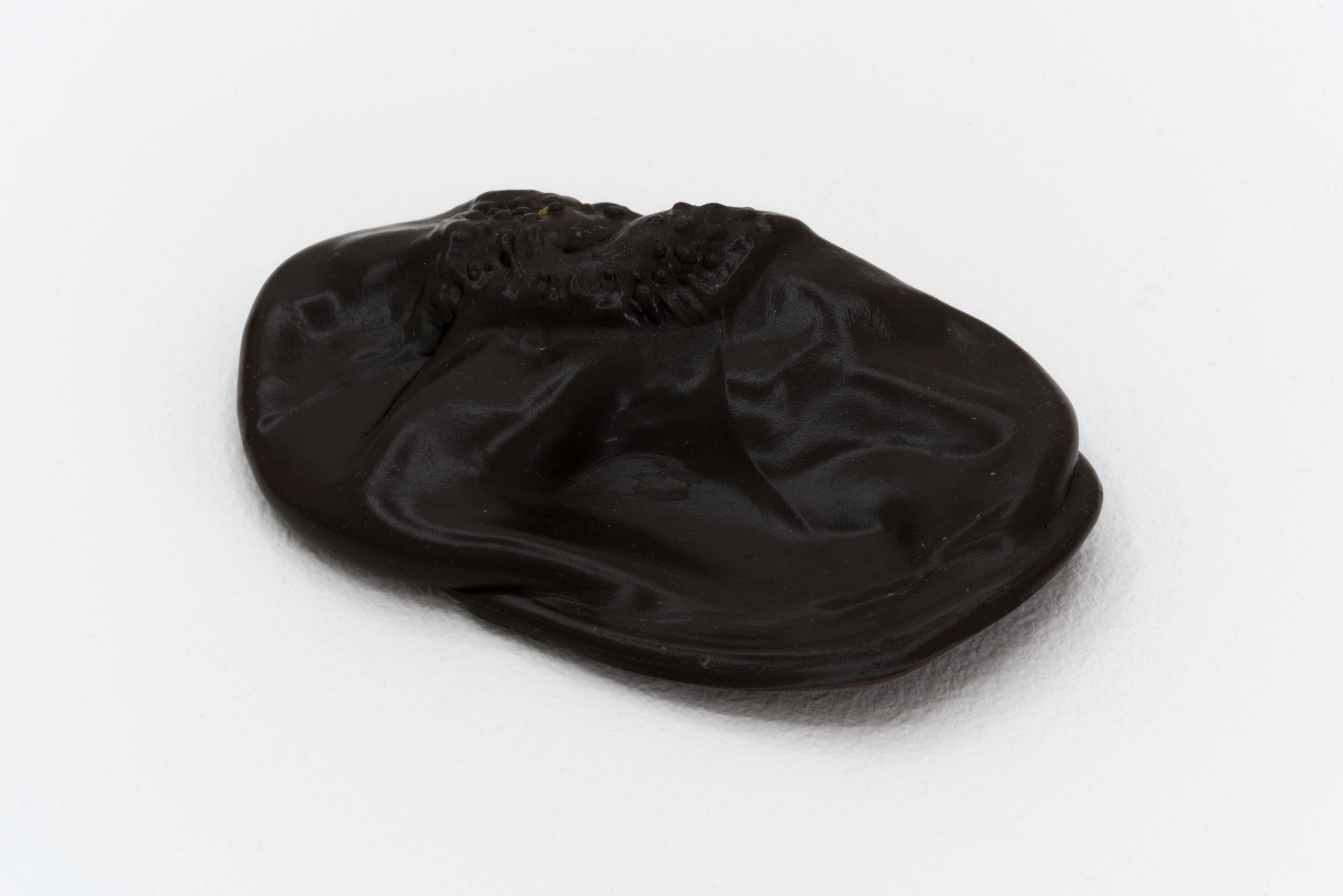 Remko Scha,  Plastic Meltdown , 1962-1992, Plastic, 1.5 x 11 x 7 cm