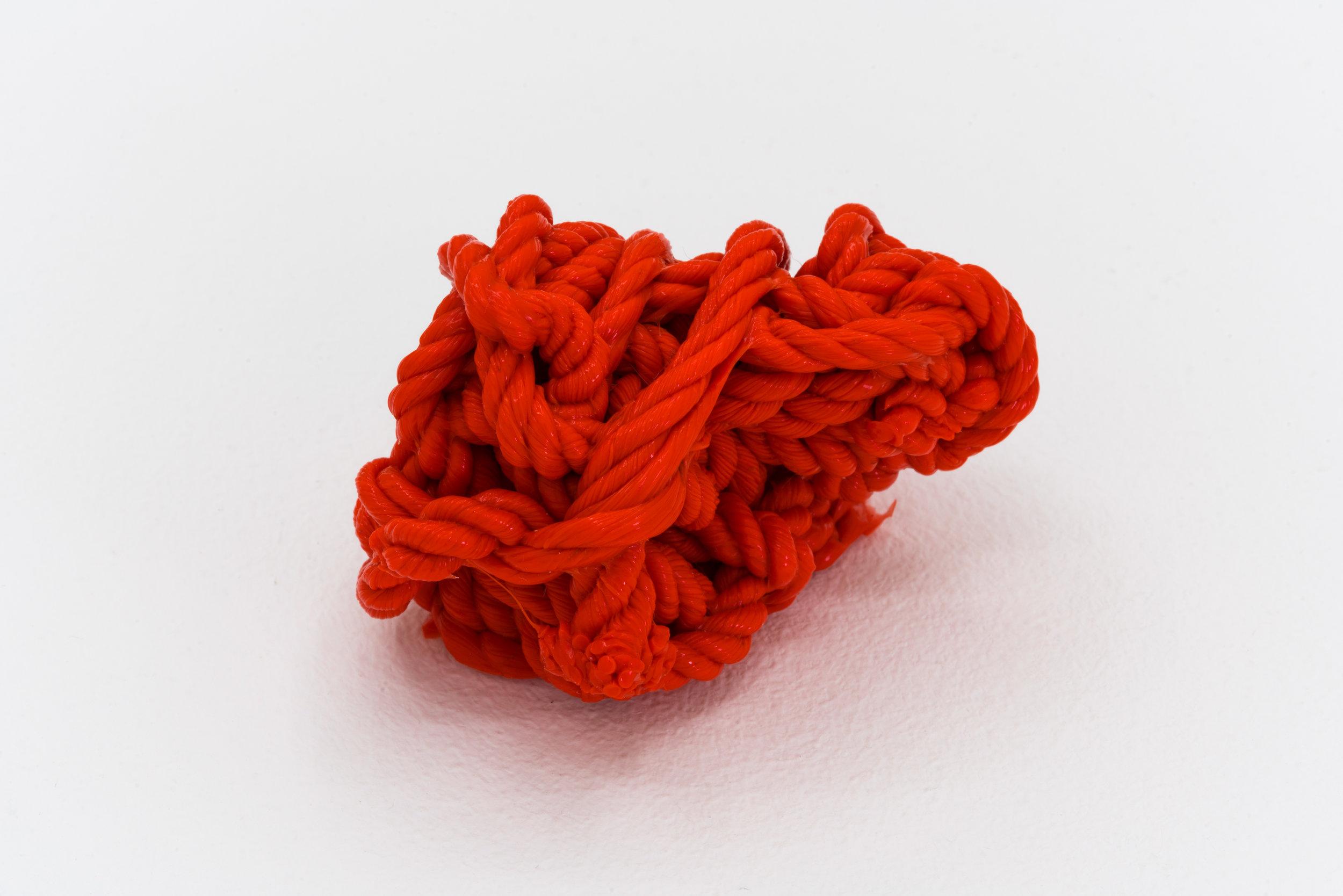 Remko Scha,  Plastic Meltdown , 1962-1992, Plastic, 5 x 7 x 4 cm