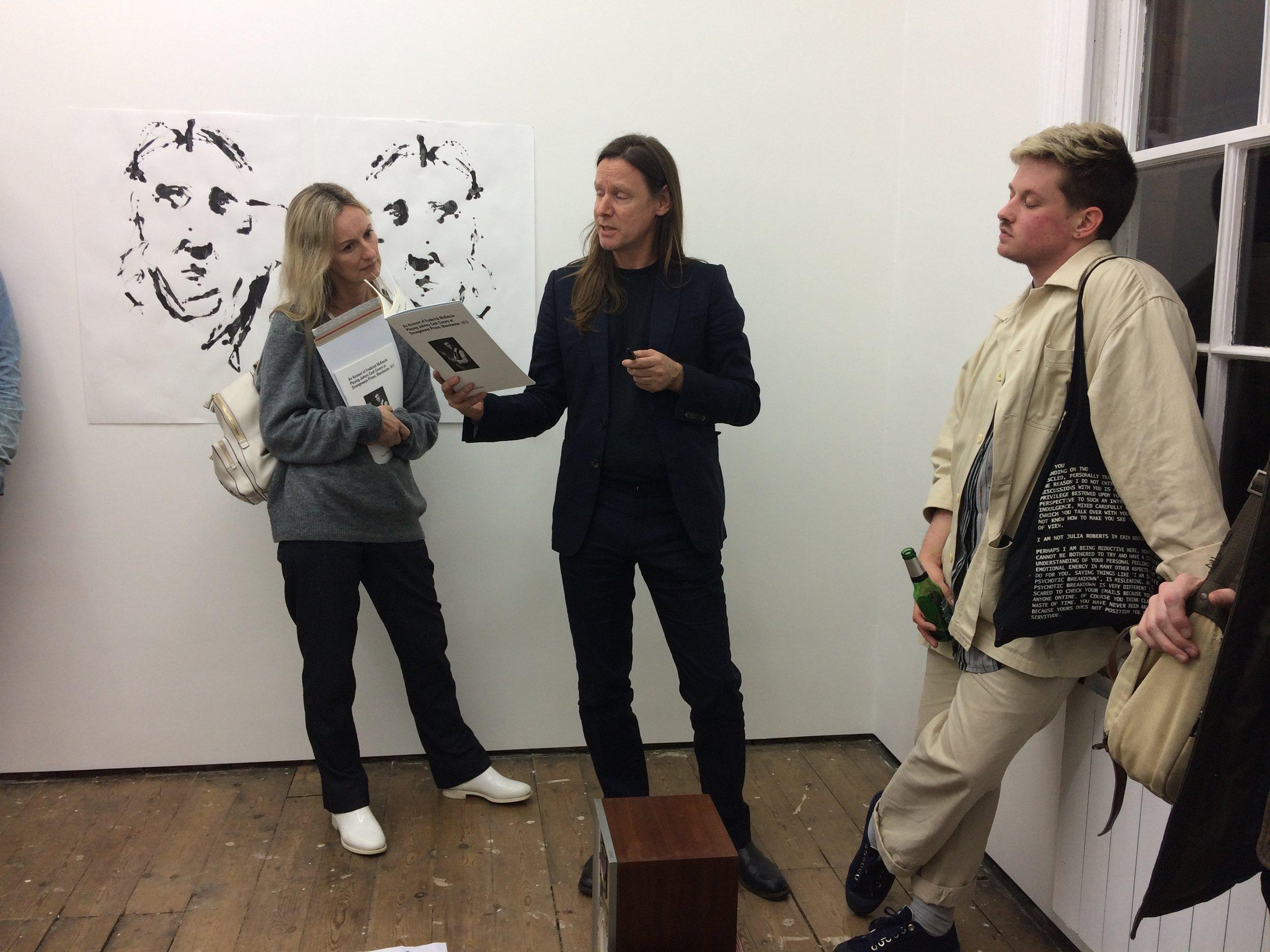 TG gallery Stuart McKenzie Sesame Street readings