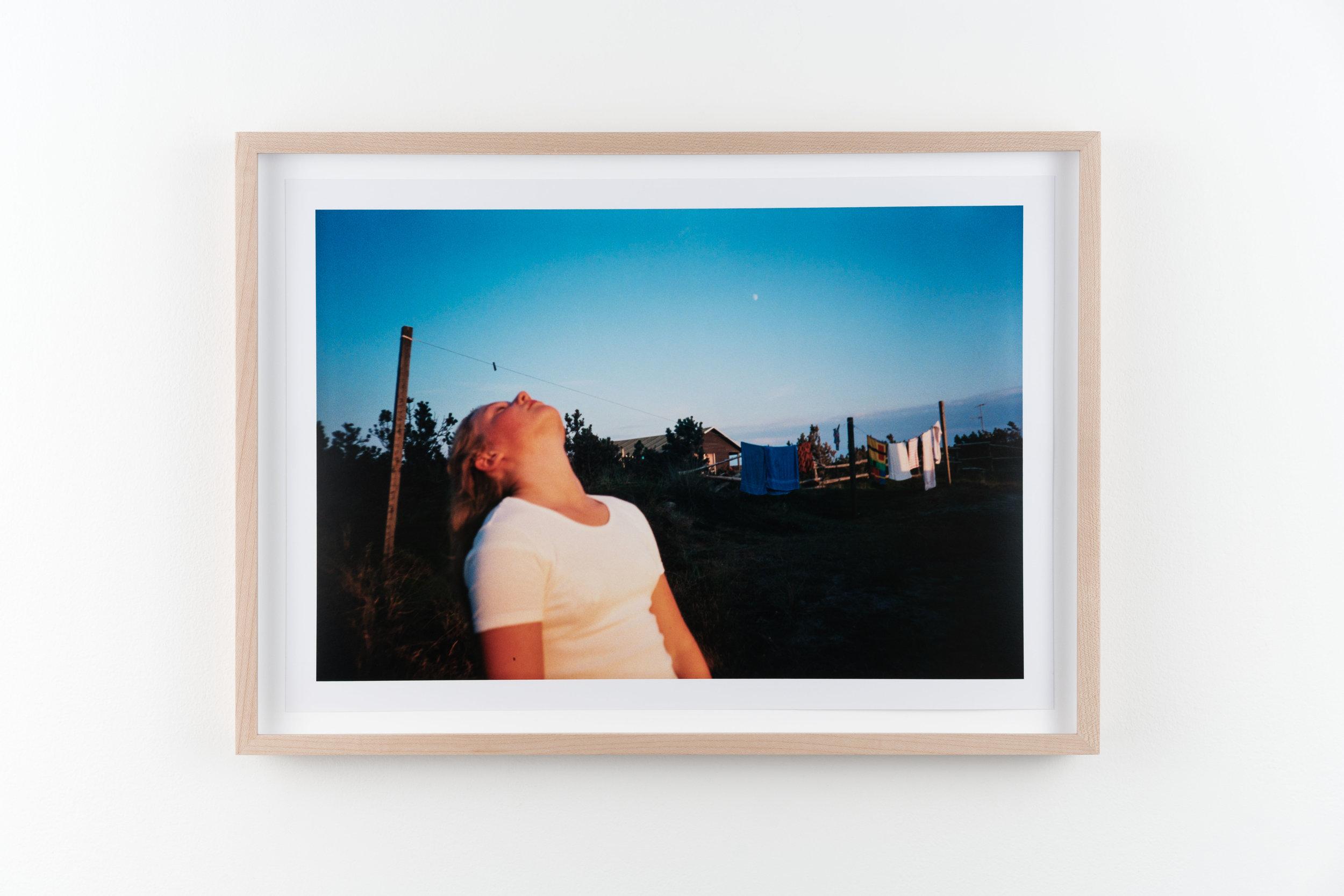 Julie 2 , 1997/2018 Hand-printed c-print 21.8 x 32.8 cm (28.5 x 39.5 cm framed)